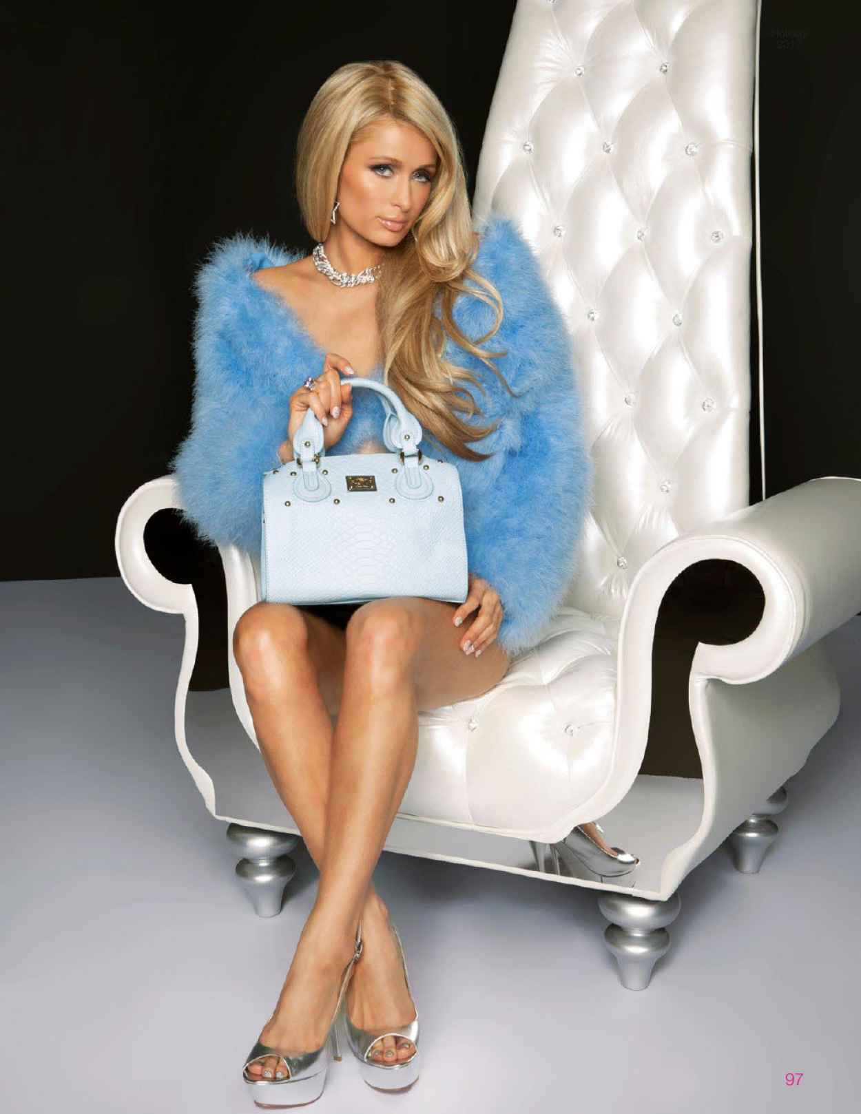Paris Hilton - FSHN Magazine - Holiday Issue 2015-1