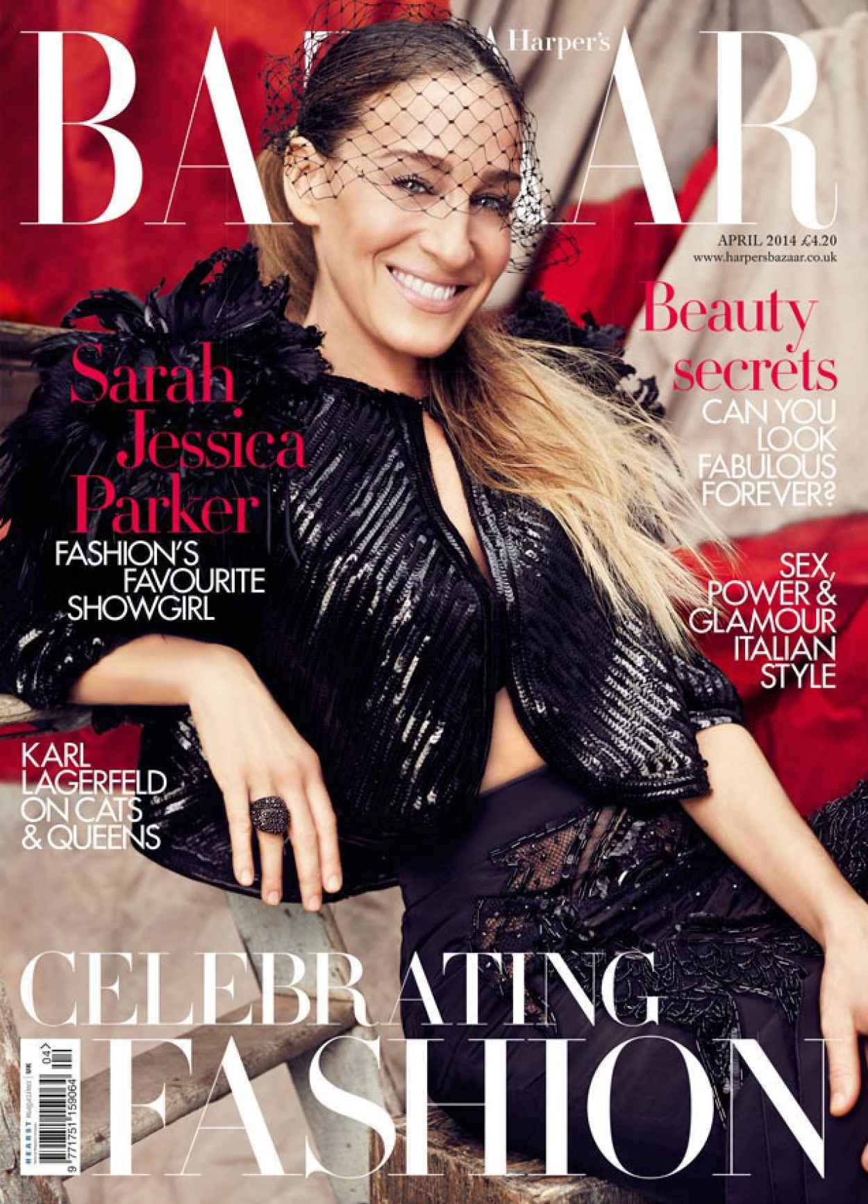 Sarah Jessica Parker - Harpers Bazaar Magazine - April 2015 Issue-1