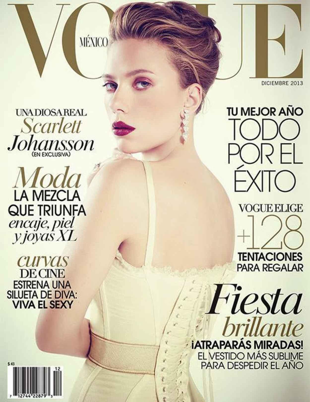Scarlett Johansson - VOGUE Magezine (Mexico) - December 2015-1