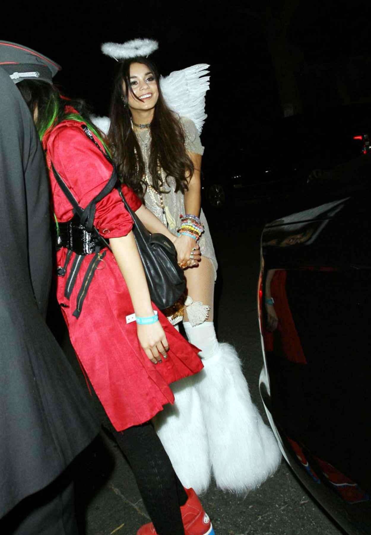Vanessa Hudgens is an Angel at a Halloween Party In Beverly Hills-1