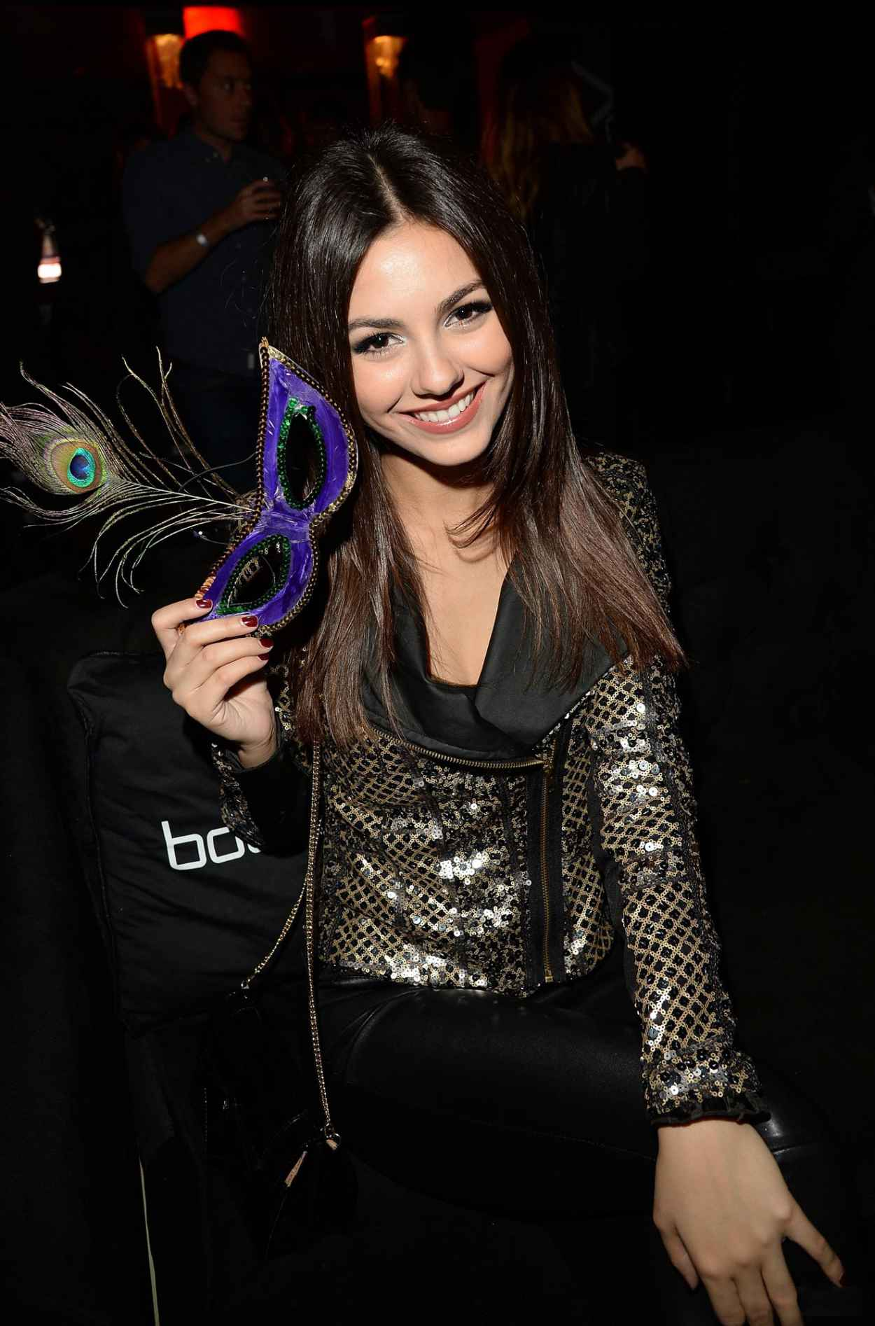 Victoria Justice at Beyonce Concert at Staples Center - Los Angeles - December 2015-1