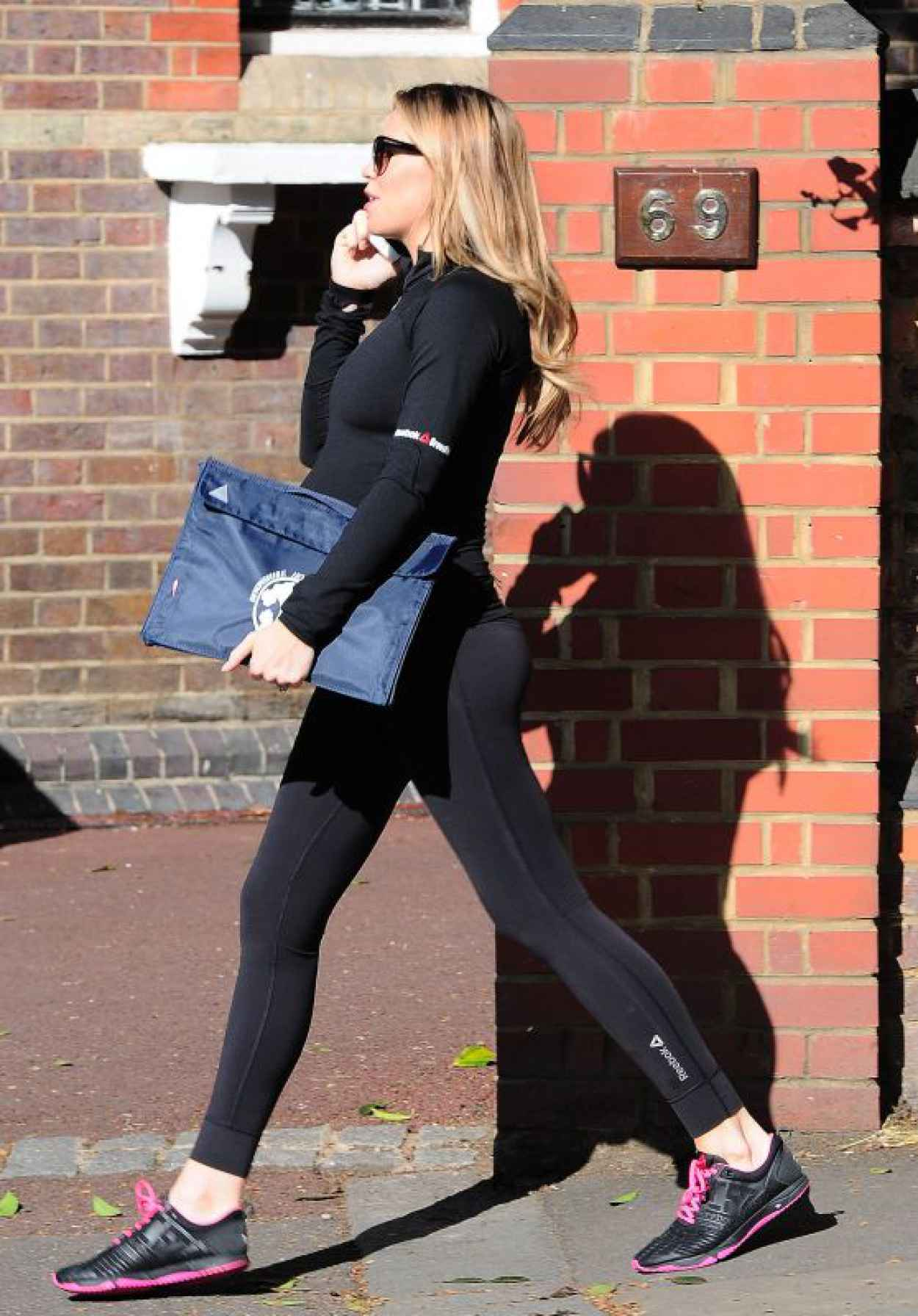 Abbey Clancy - on her way to the Gym in London, April 2015-1