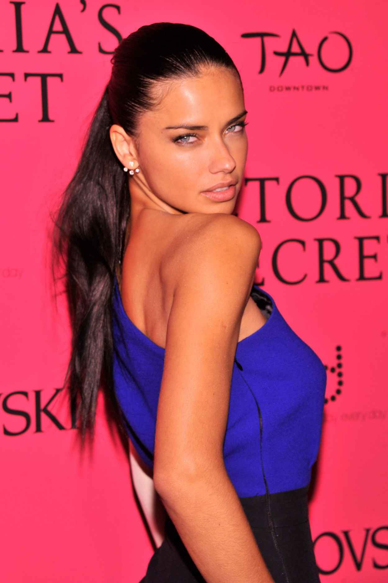 Adriana Lima Red Carpet Photos - Victoria-s Secret Fashion After Party in New York - November 2015-1