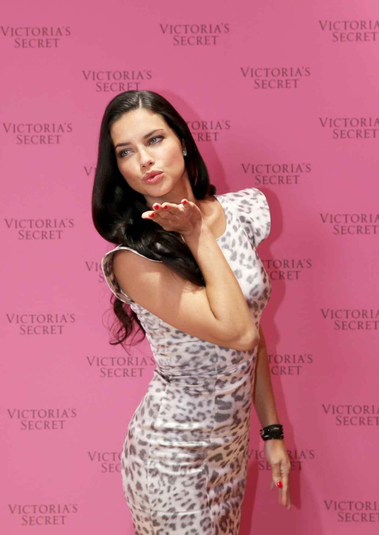 Adriana Lima - Victorias Secret Fantasy Bra Launch in Dubai - December 2015-1