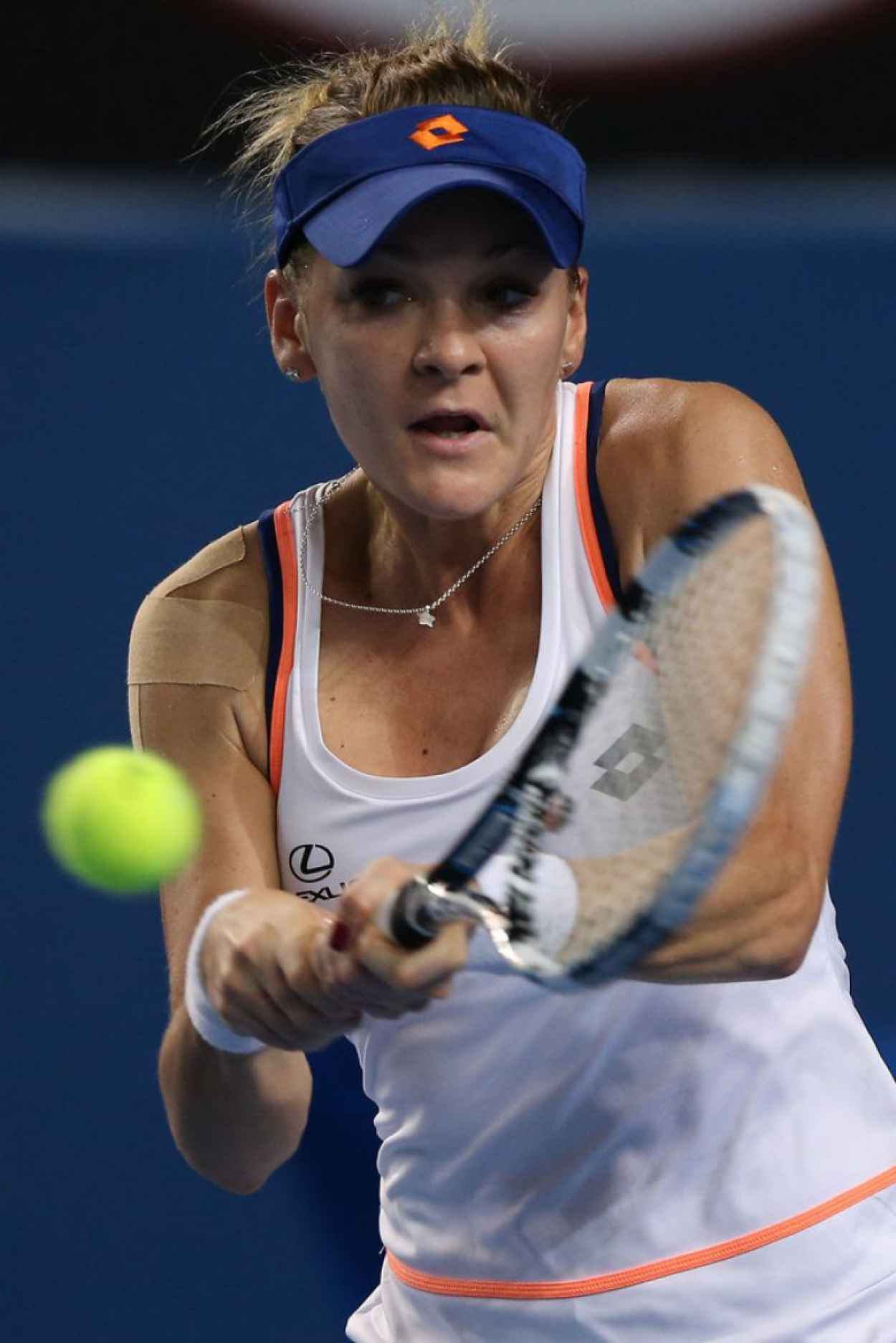 Agnieszka Radwanska - Australian Open - January 16, 2015-1