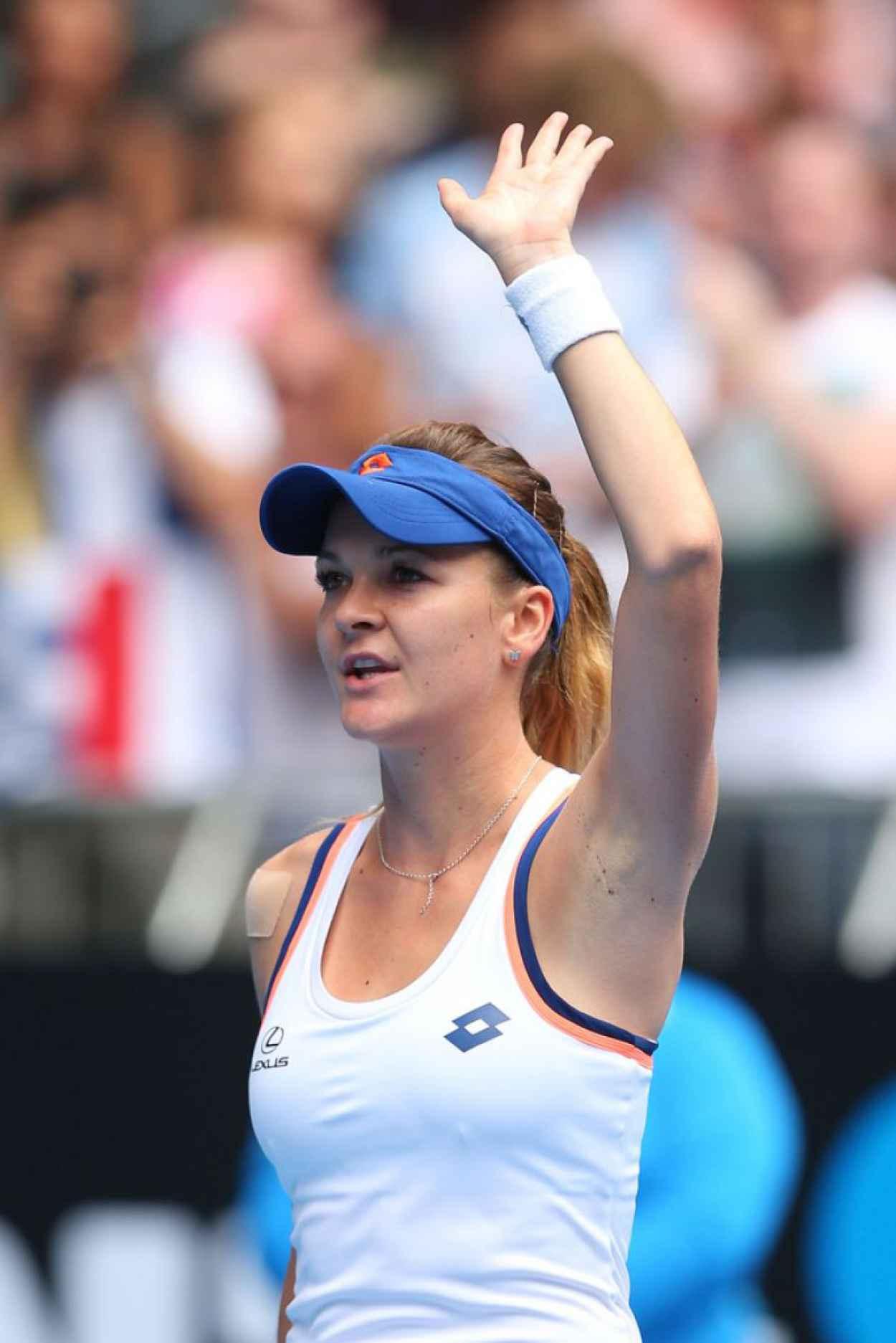 Agnieszka Radwanska - Australian Open - January 18, 2015-1