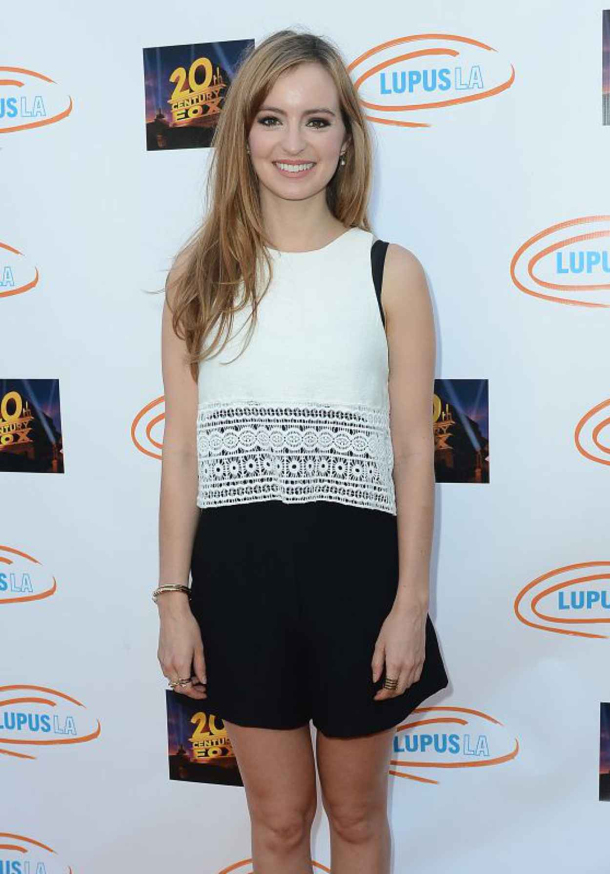 Ahna OReilly - Lupus LA Orange Ball And A Night Of Superheroes in Century City, June 2015-1