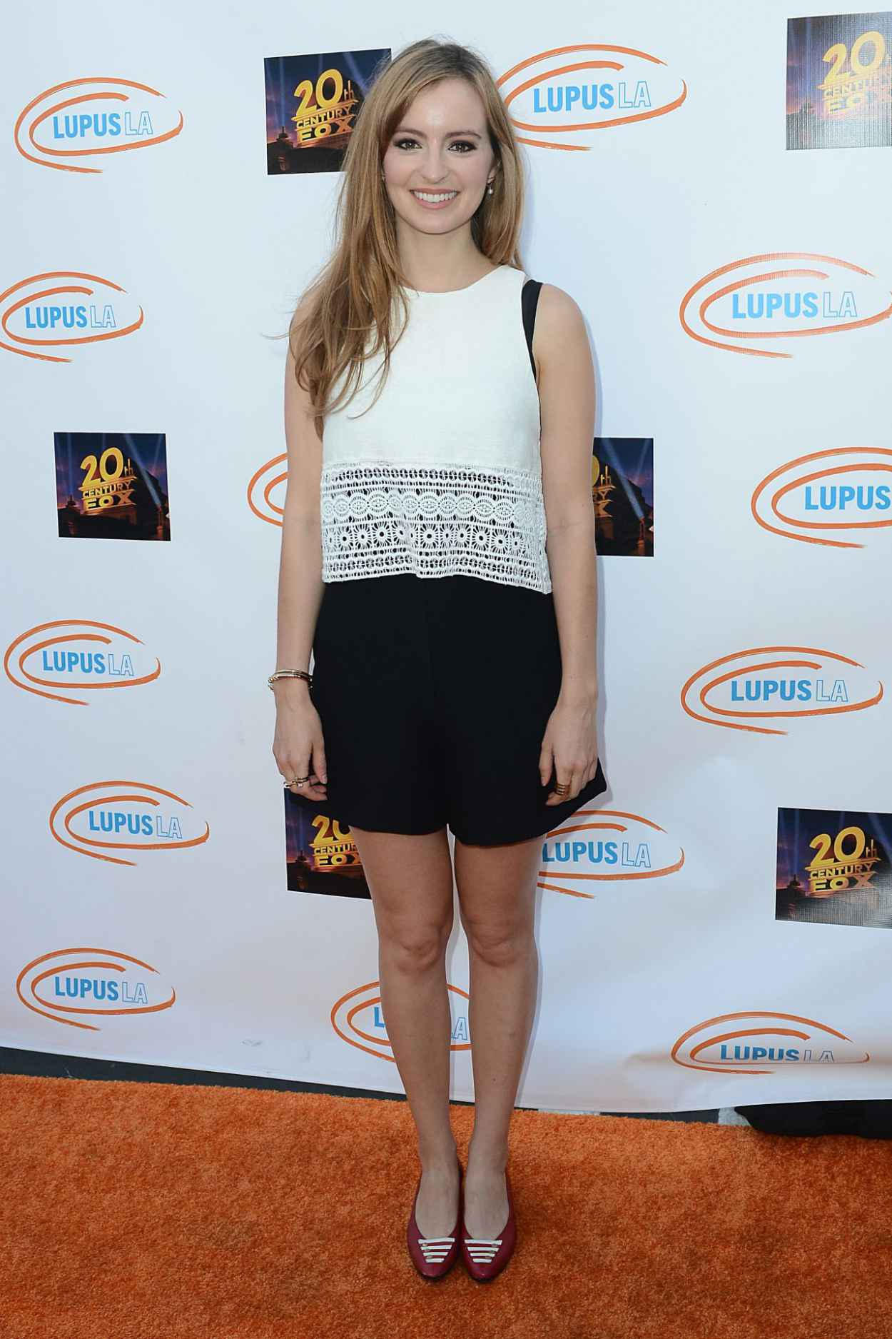 Ahna OReilly - Lupus LA Orange Ball And A Night Of Superheroes in Century City, June 2015-4