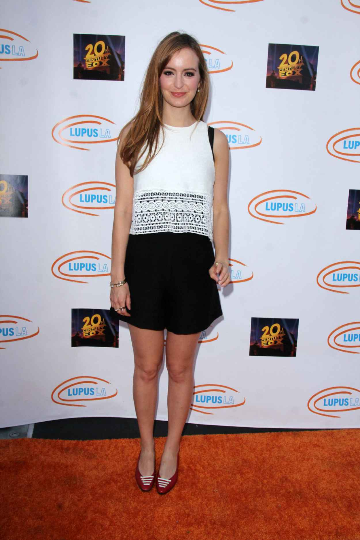 Ahna OReilly - Lupus LA Orange Ball And A Night Of Superheroes in Century City, June 2015-5