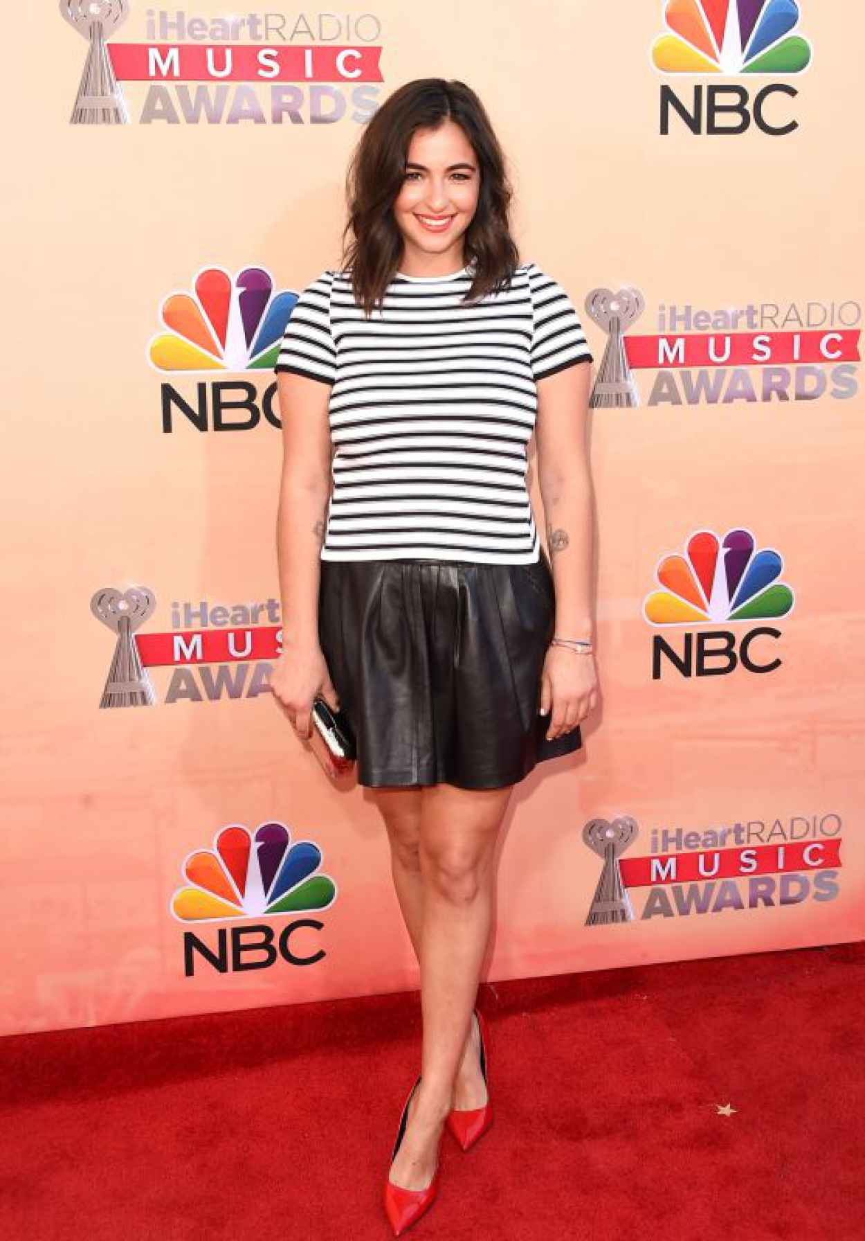 Alanna Masterson - 2015 iHeartRadio Music Awards in Los Angeles-1
