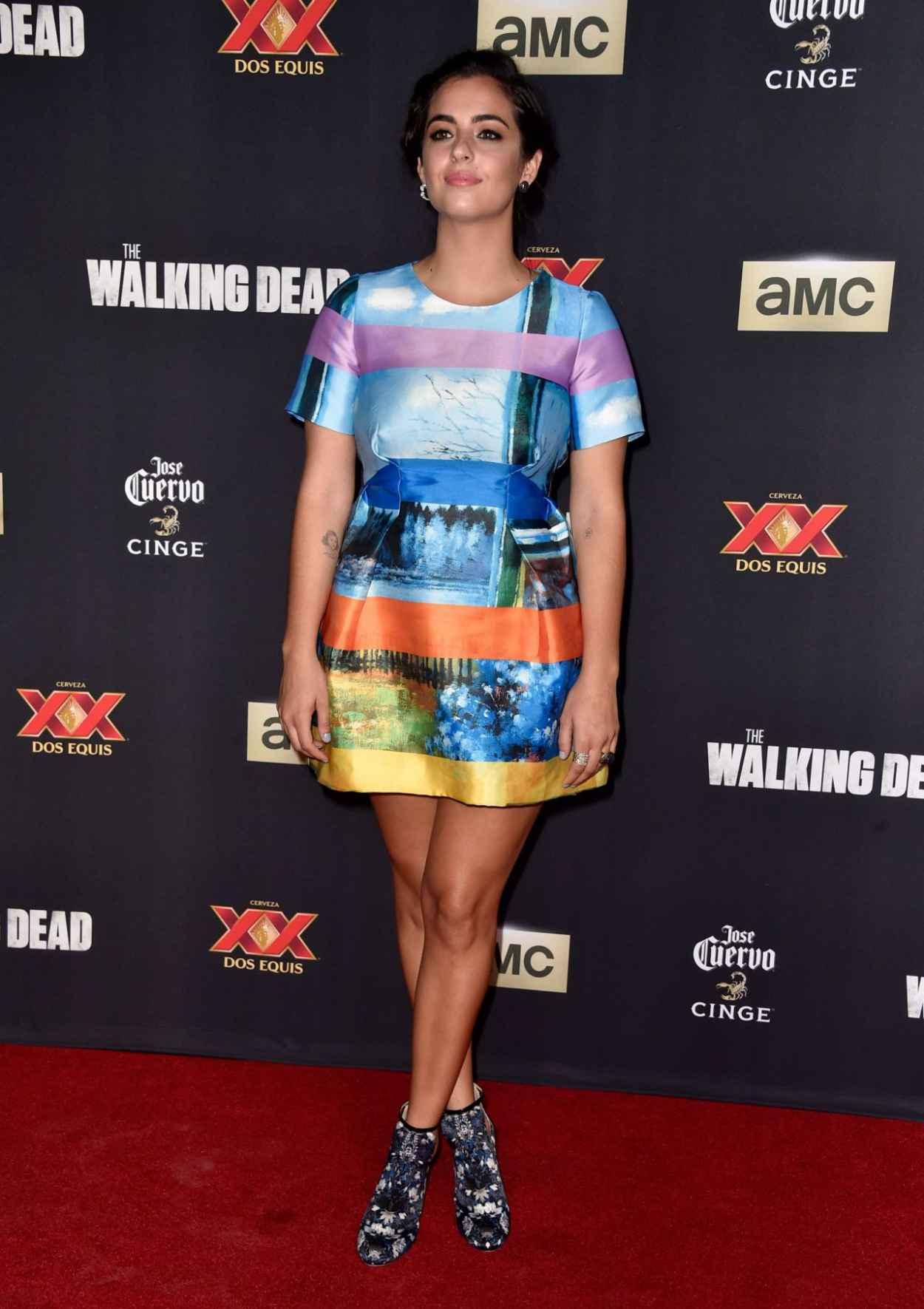 Alanna Masterson - The Walking Dead Season Five Premiere in Universal City-1