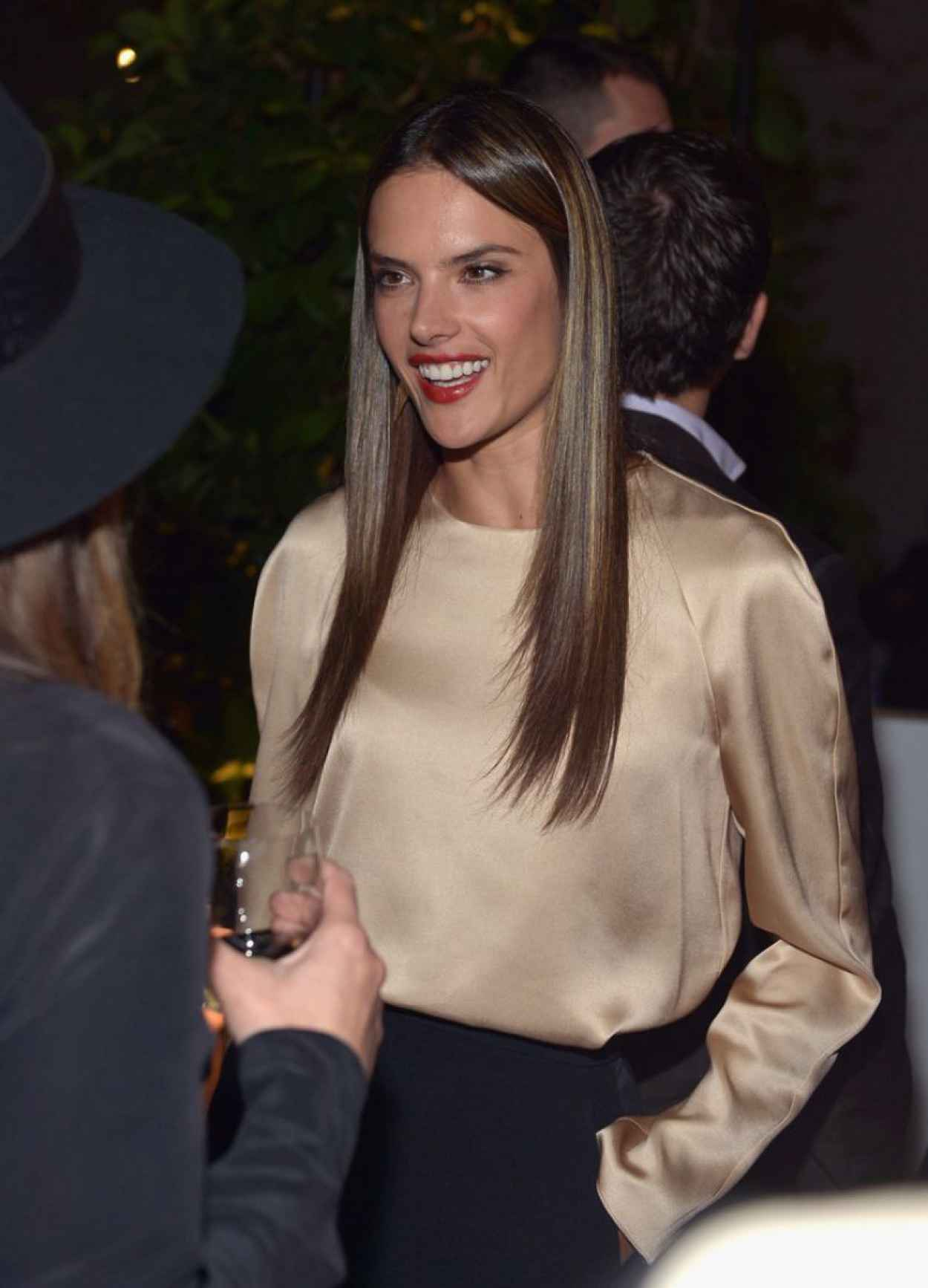Alessandra Ambrosio at Chloe Los Angeles Fashion Show & Dinner-1