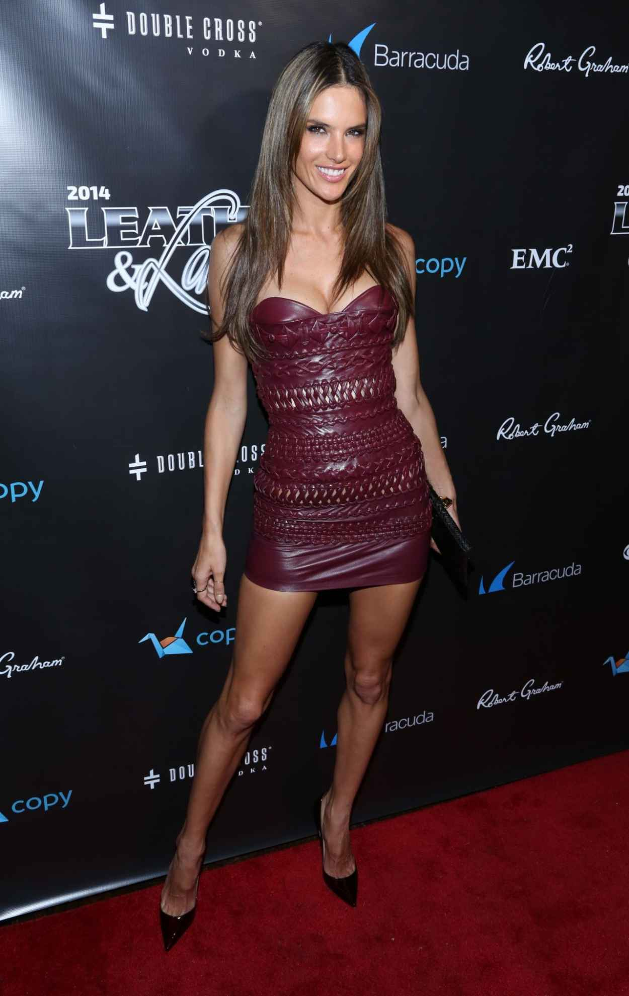 Alessandra Ambrosio Attends 2015 Leather & Laces Party-1