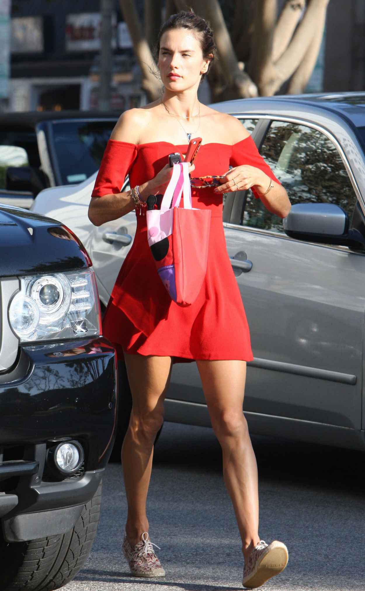 Alessandra Ambrosio - Takes Her Daughter Anja to Ballet Classes in Brentwood-2
