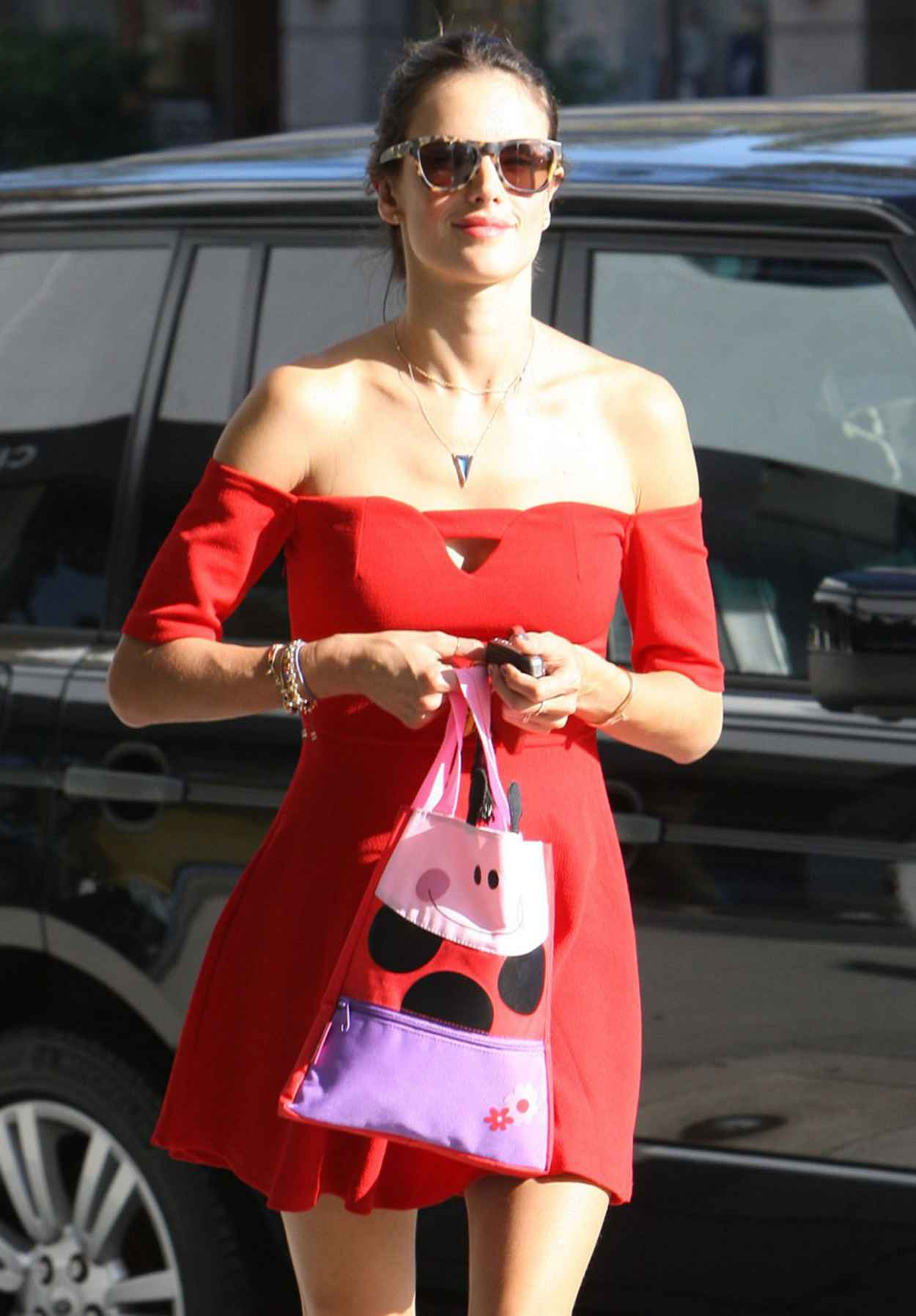 Alessandra Ambrosio - Takes Her Daughter Anja to Ballet Classes in Brentwood-3