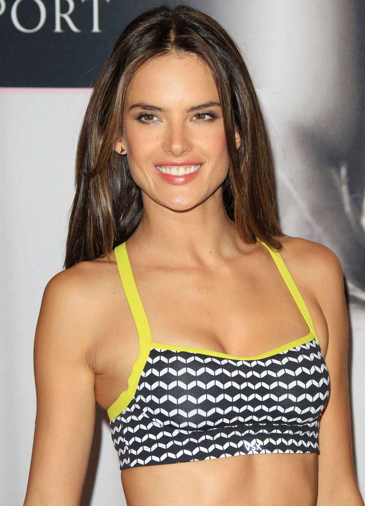 Alessandra Ambrosio - Victorias Secret Angel Celebrates Worlds Best Sport Bras-1