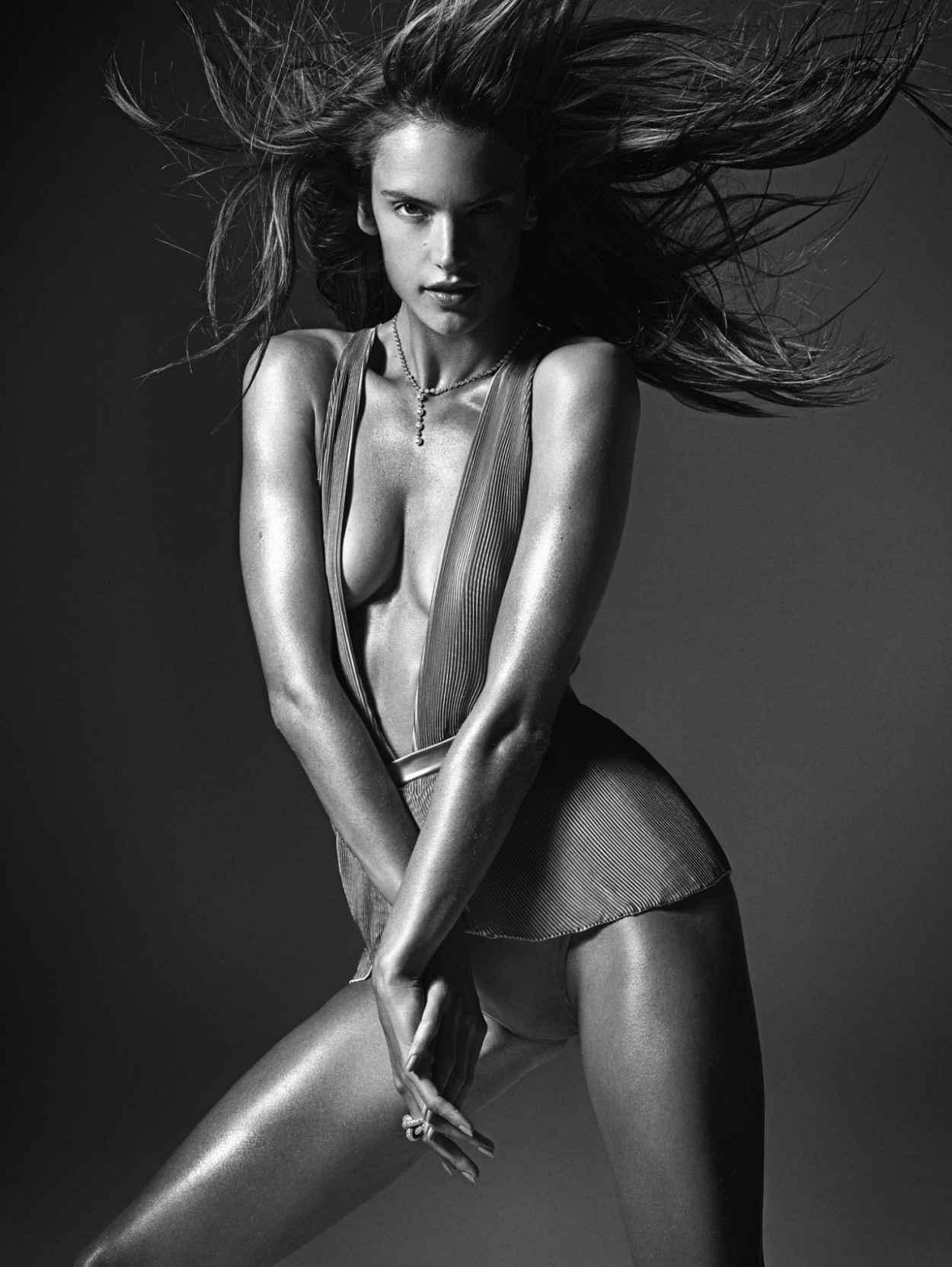 Alessandra Ambrosio - W Magazine - March 2015 - (by Mario Sorrenti)-1