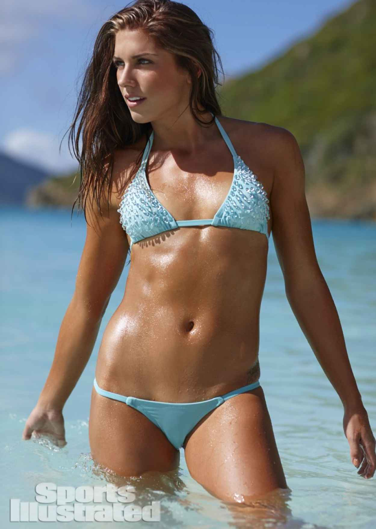 Alex Morgan - 2015 Sports Illustrated Swimsuit Issue-1