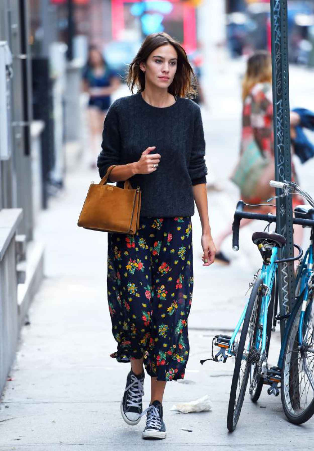 Alexa Chung - Out and About in NYC, August 2015-1