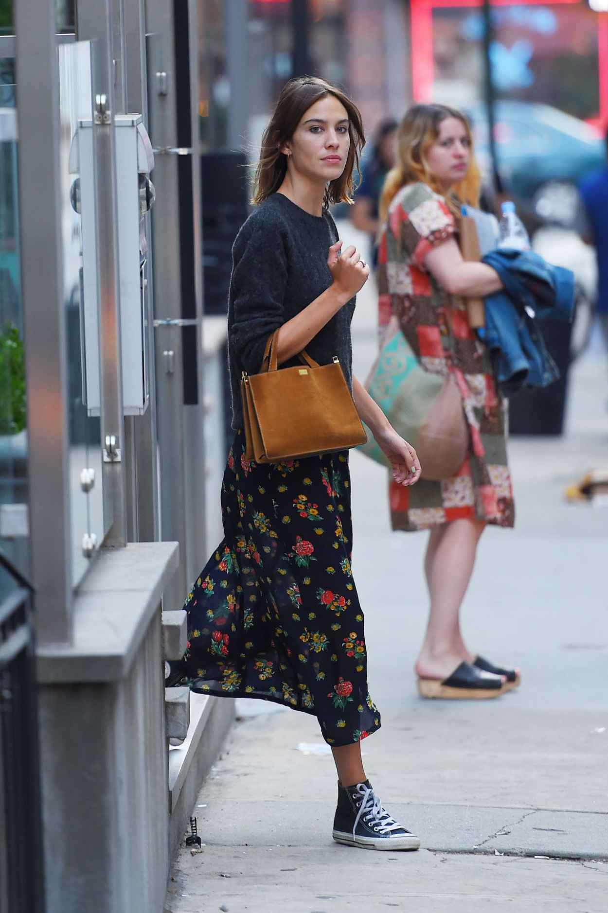 Alexa Chung - Out and About in NYC, August 2015-2