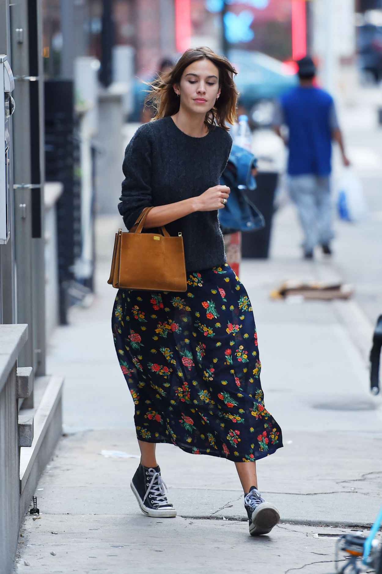 Alexa Chung - Out and About in NYC, August 2015-3