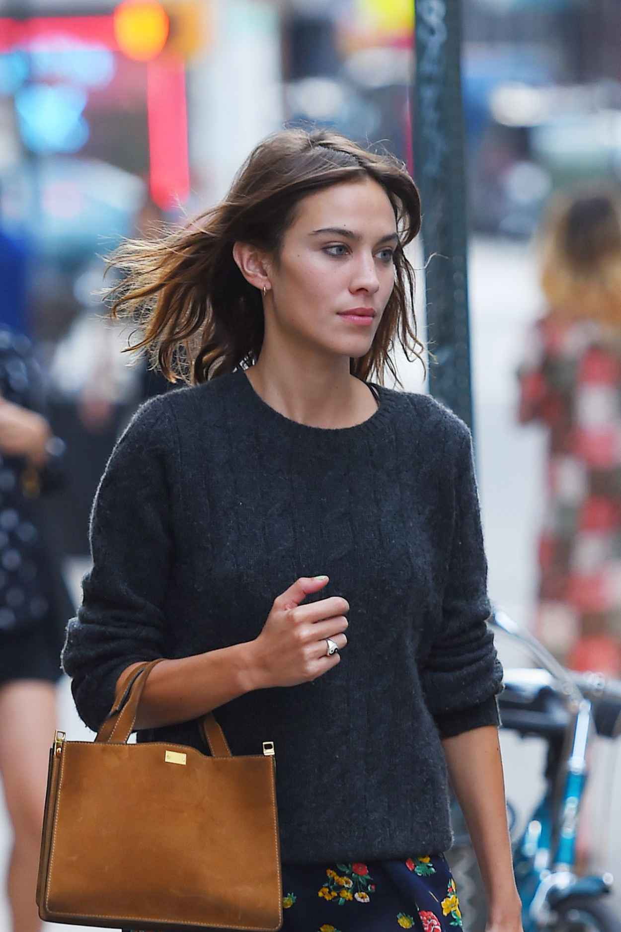 Alexa Chung - Out and About in NYC, August 2015-5