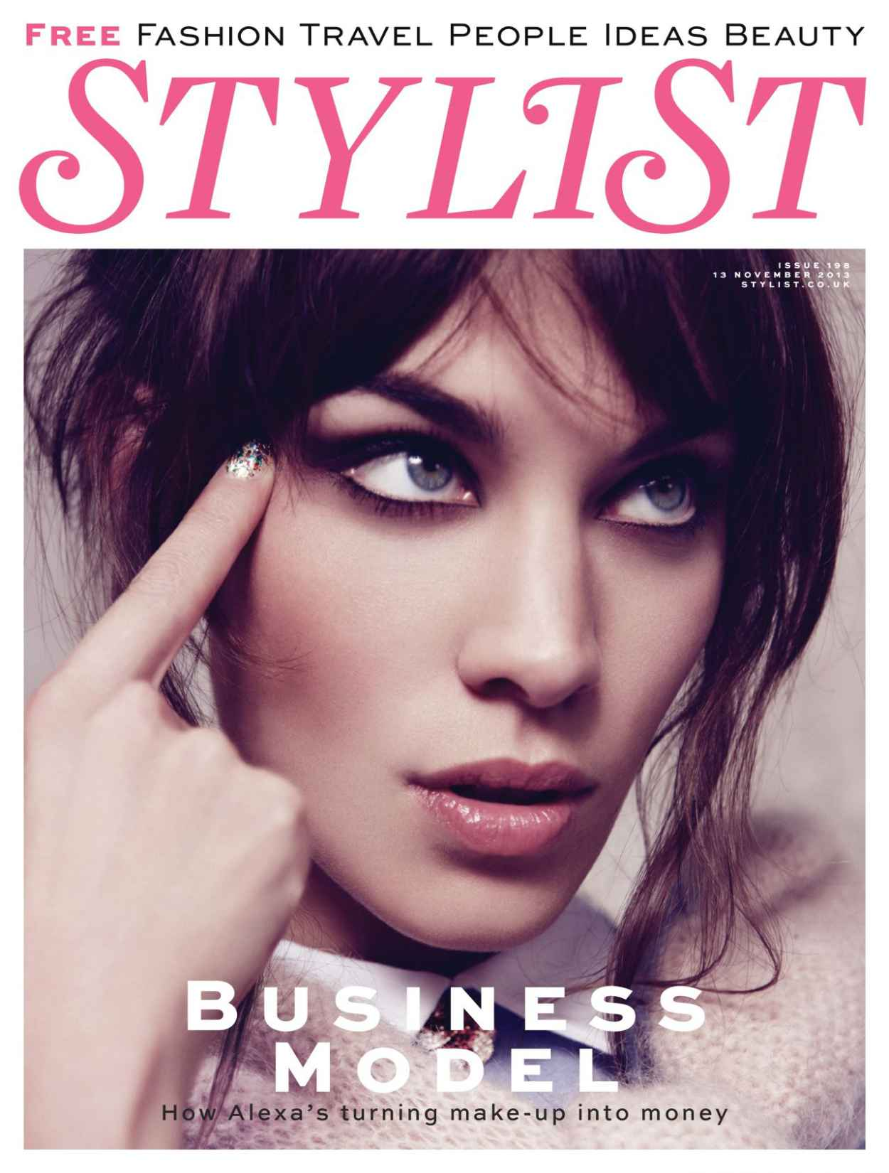 Alexa Chung - STYLIST Magazine - November 2015 Issue-1