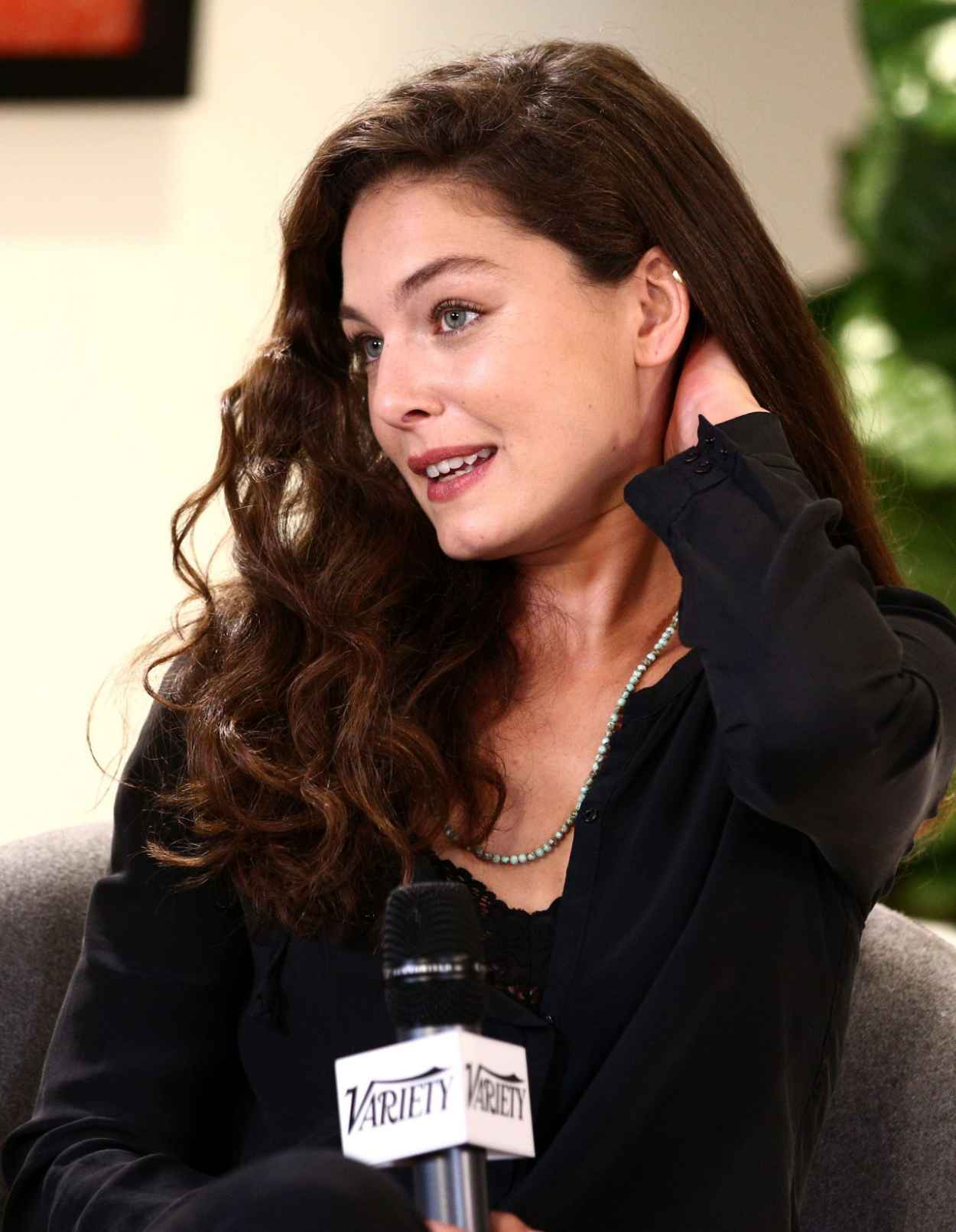 Alexa Davalos at Variety Awards Studio in West Hollywood - November 2015-5