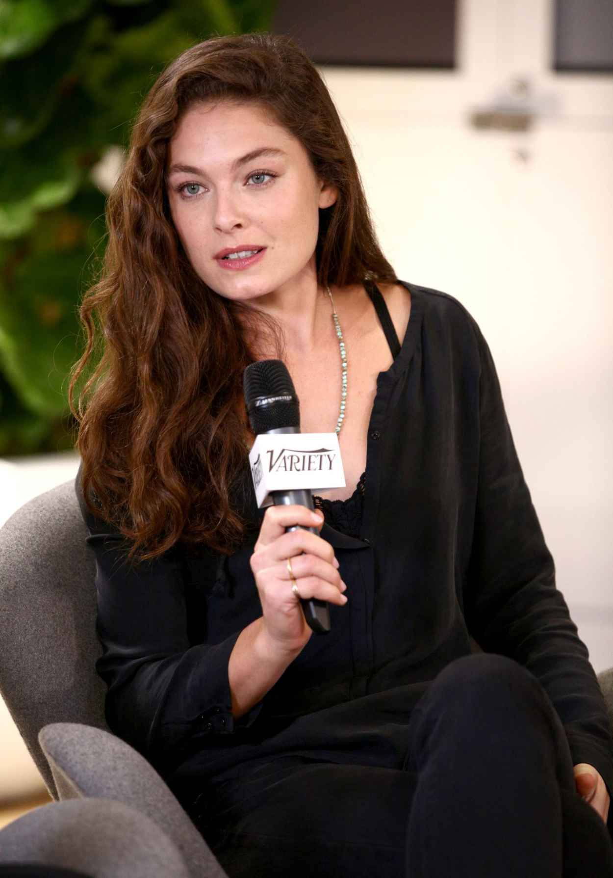Alexa Davalos at Variety Awards Studio in West Hollywood - November 2015-4