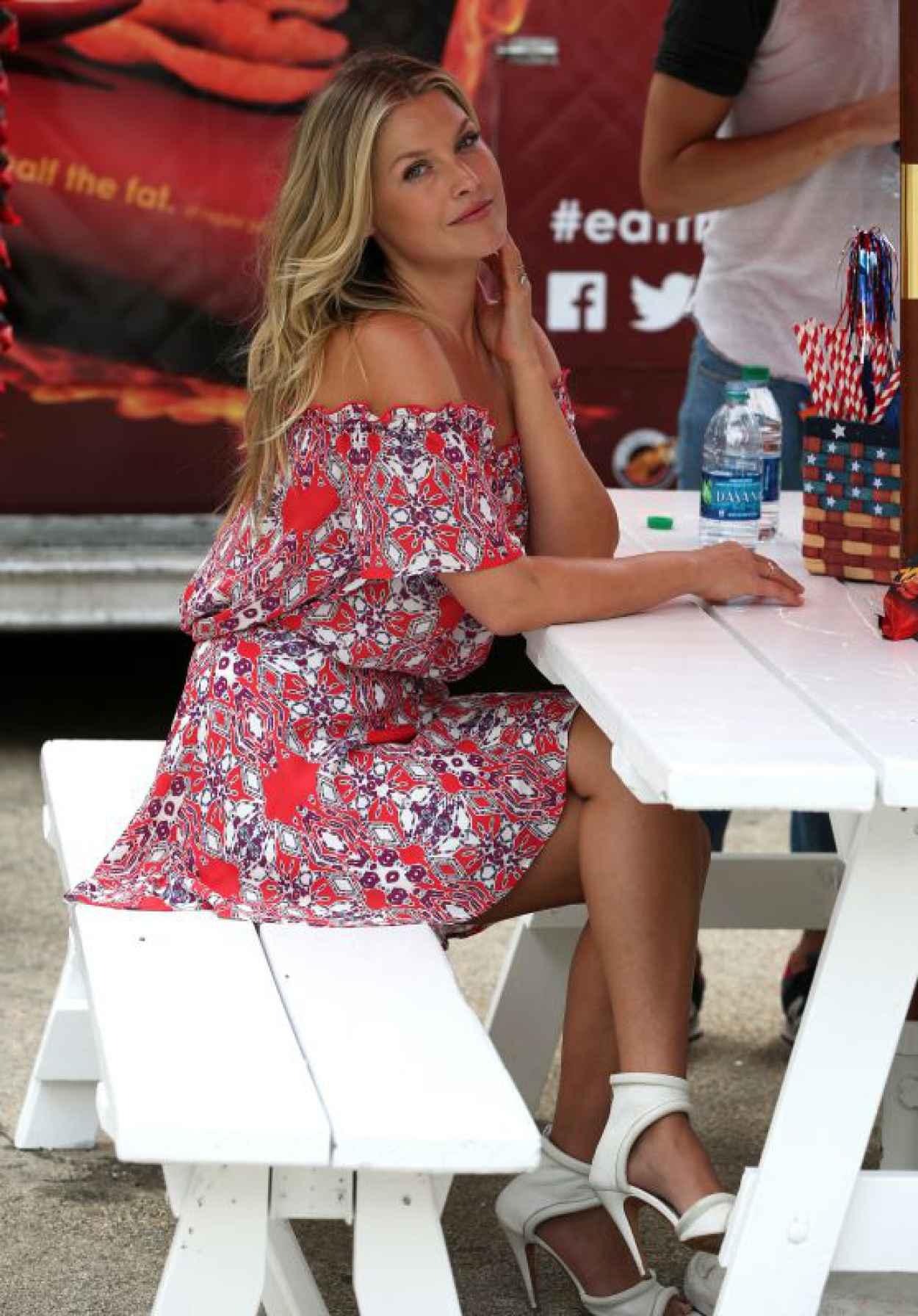 Ali Larter Hot Pics - Hosting Popchips Crazy Hot Summer BBQ Event in New York City-1