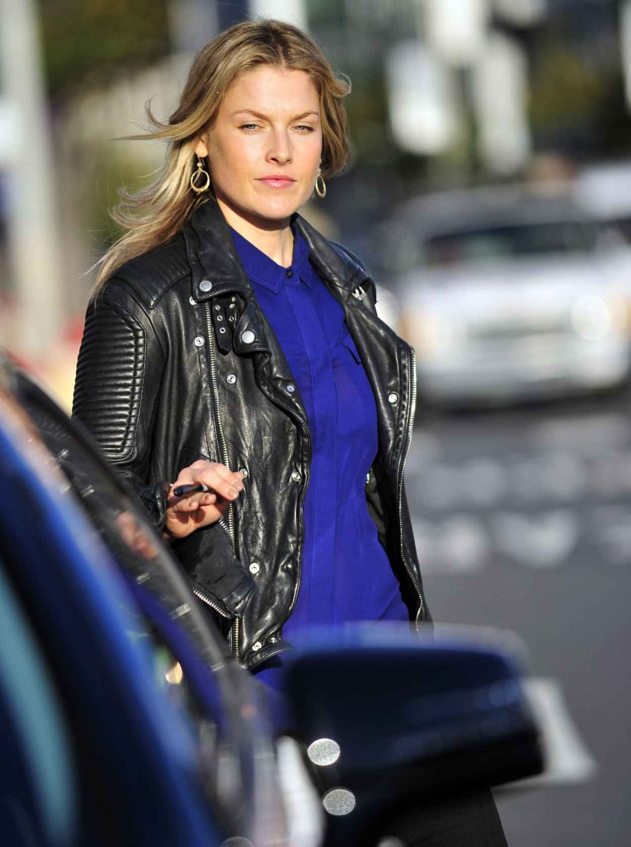 Ali Larter Street Style - Los Angeles - December 2015-1