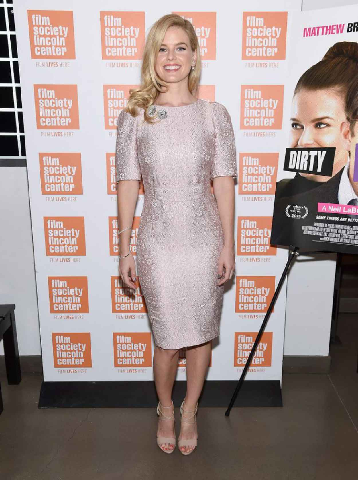"Alice Eve - 2015 Film Society Of Lincoln Center Summer Talks With ""Dirty Weekend"" in New York City-5"
