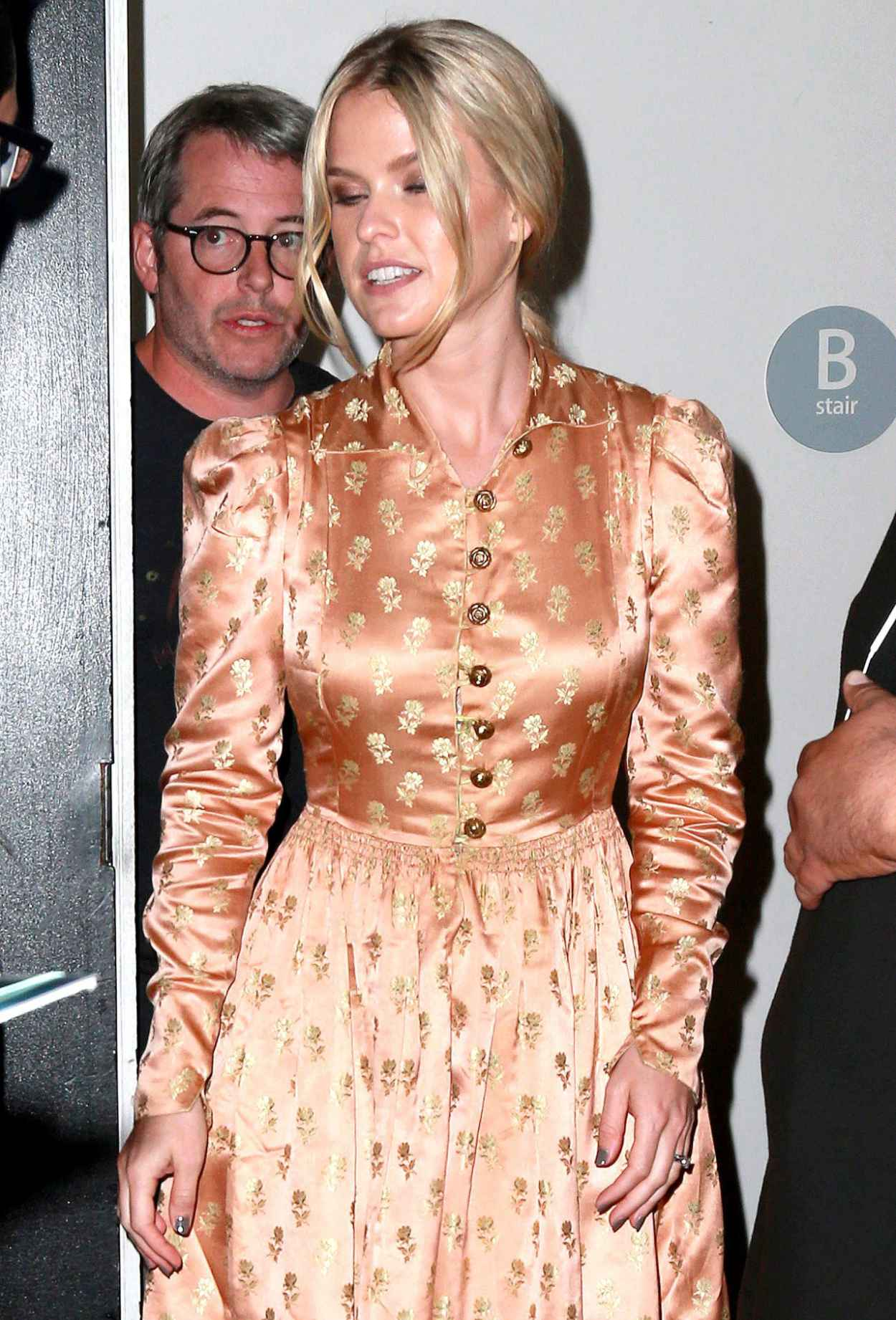 Alice Eve - Leaving Apple Store in NYC After Promoting Her New Movie Dirty Weekend-2