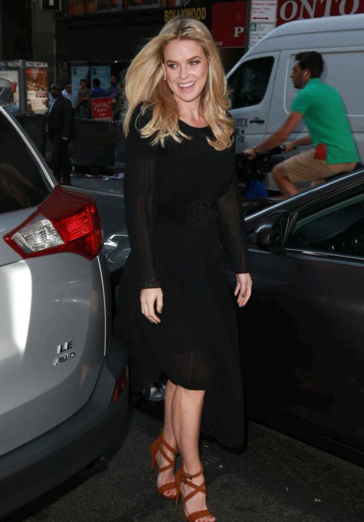 Alice Eve - NBC Studios During an Appearance on The Today Show in NYC- August 2015-1