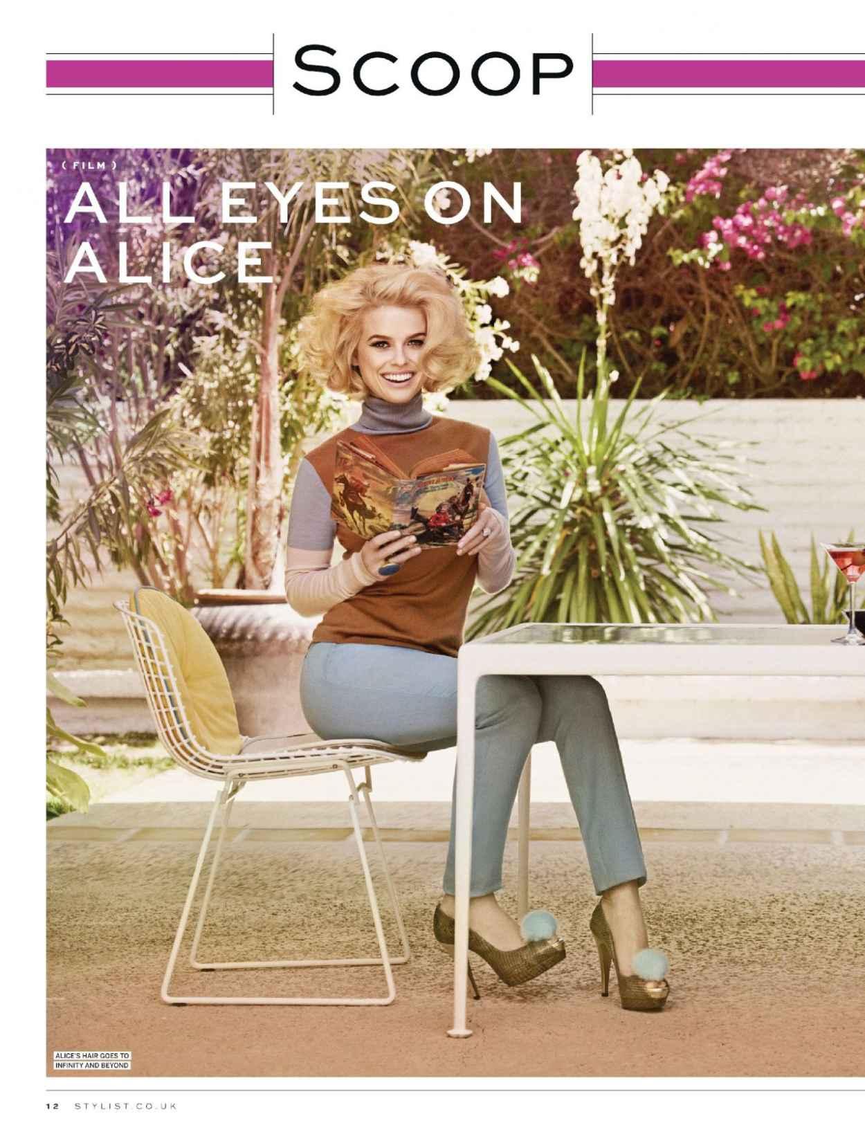 Alice Eve - STYLIST Magazine - September 2015 Issue-1