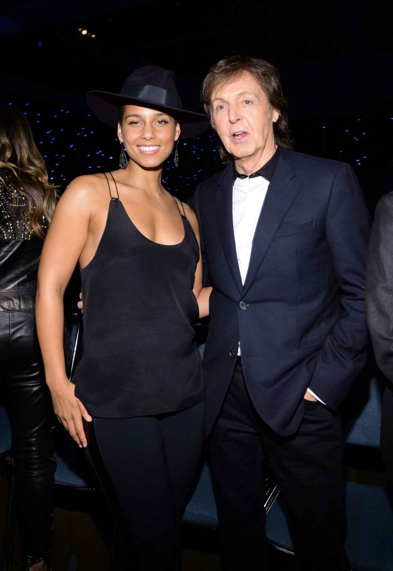 Alicia Keys Performs at the Los Angeles Convention Center - A GRAMMY Salute To The Beatles-1