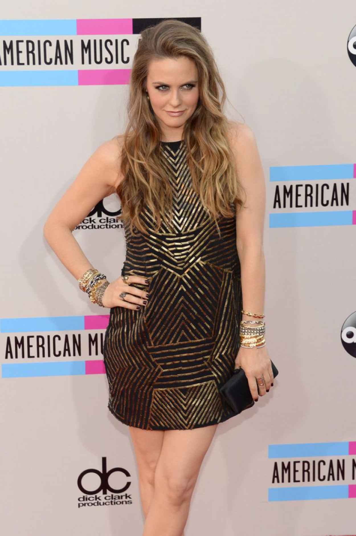 Alicia Silverstone Attends 2015 American Music Awards-5