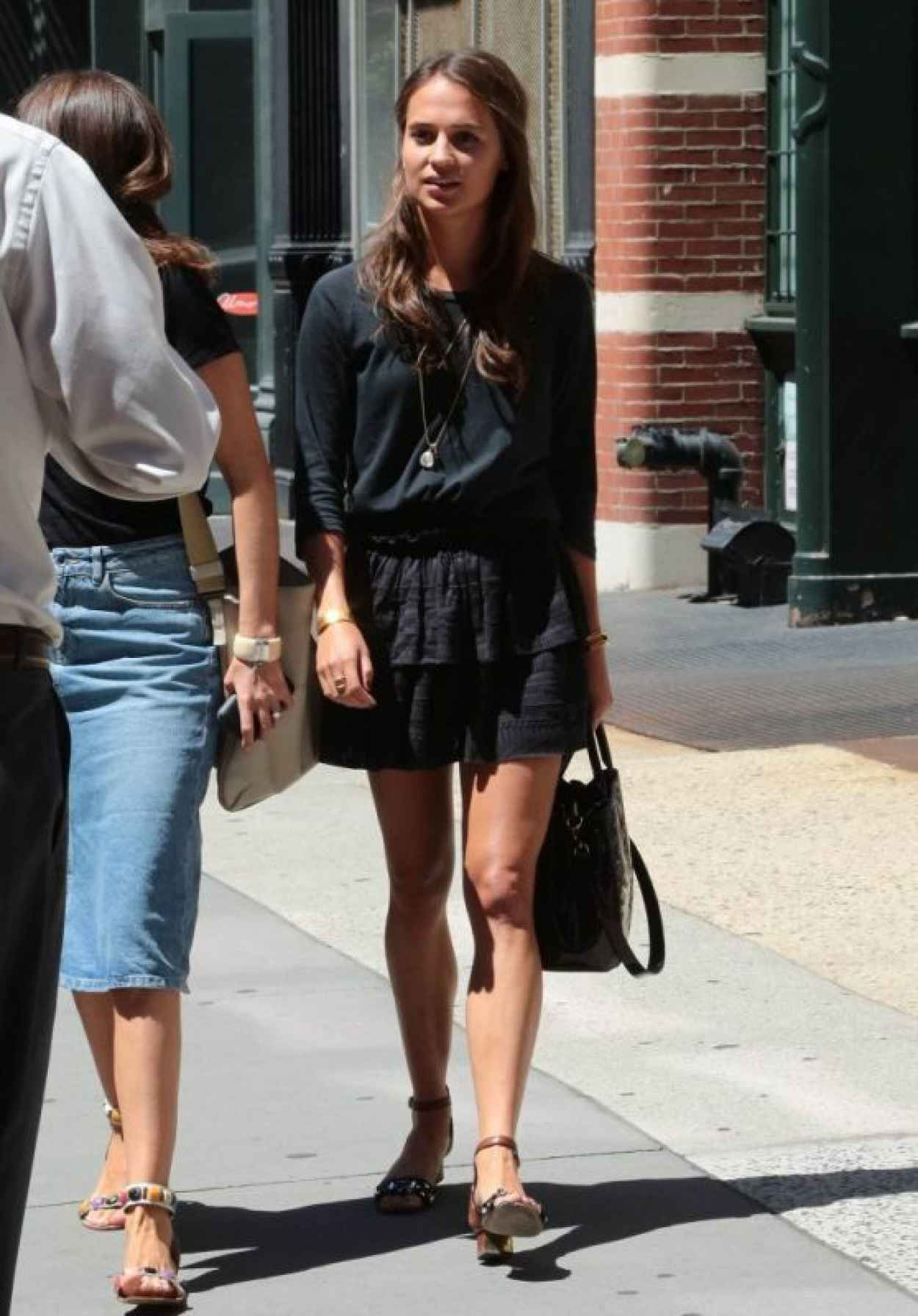 Alicia Vikander - Out in New York City, August 2015-1