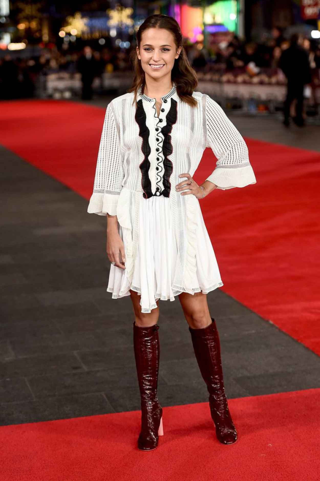 Alicia Vikander - Testament of Youth Premiere in London-1