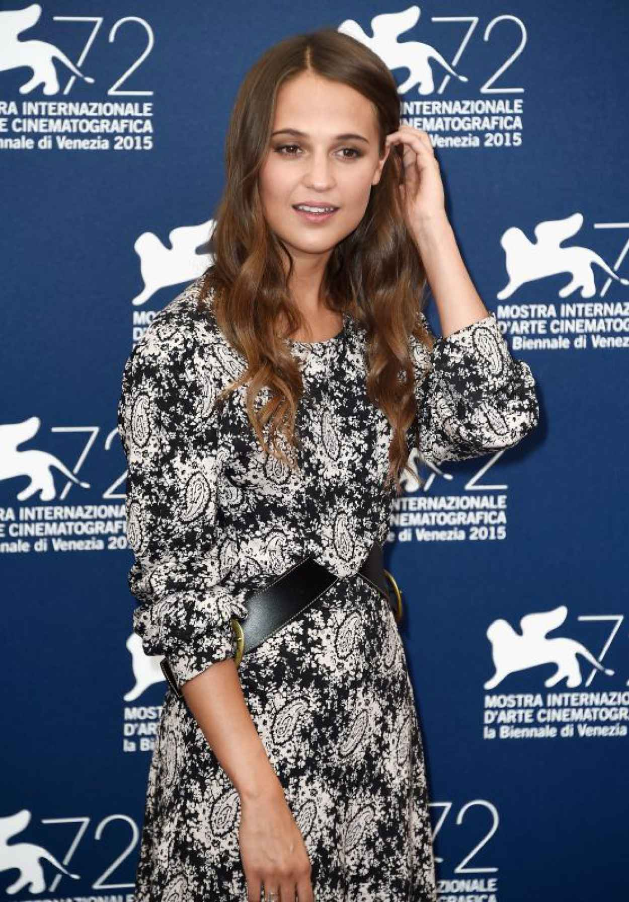 Alicia Vikander - The Danish Girl Photocall - 72nd Venice Film Festival-1