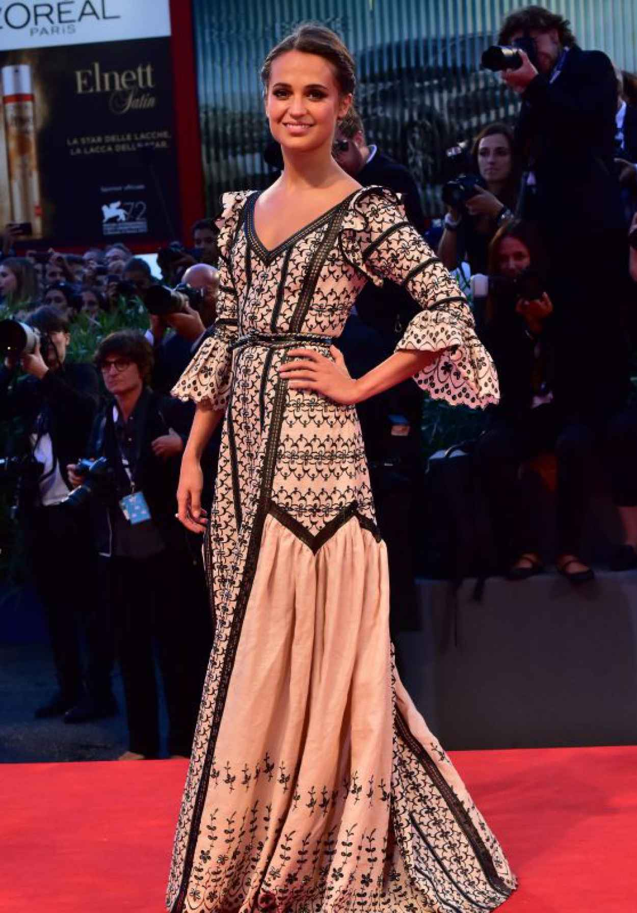 Alicia Vikander - The Danish Girl Premiere - 72nd Venice Film Festival-1