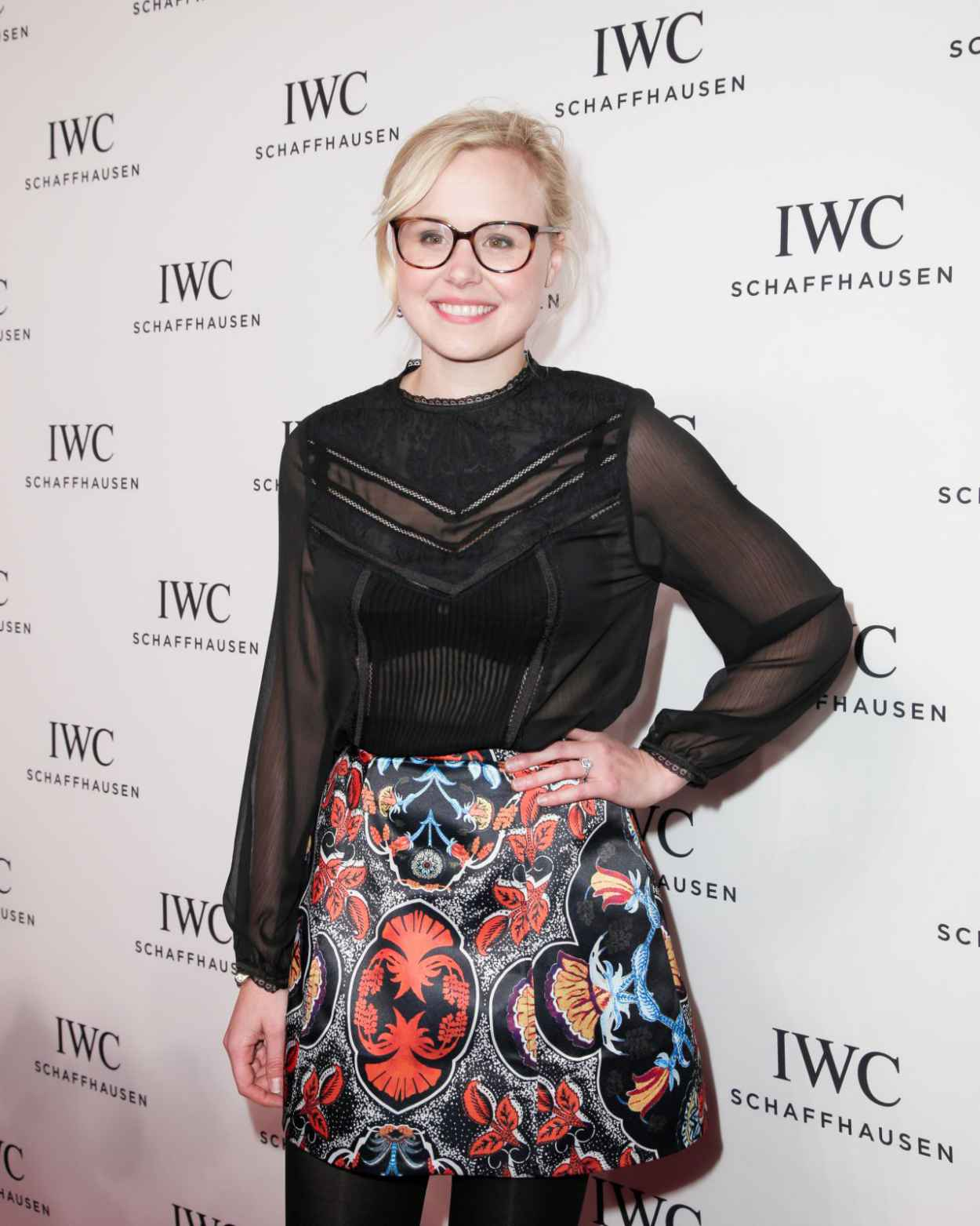 Alison Pill - 2015 IWC Schaffhausen -For the Love of Cinema- Gala in NYC-2