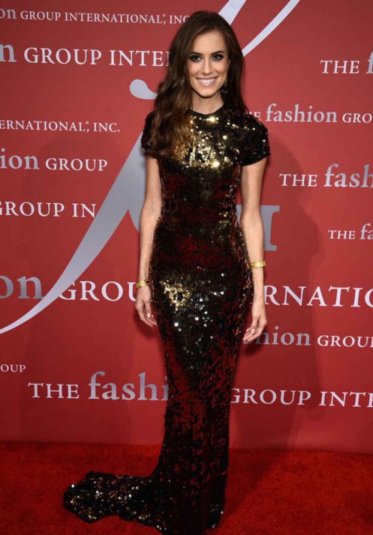 Allison Williams - 2015 Fashion Group International Night Of Stars Gala in New York City-1