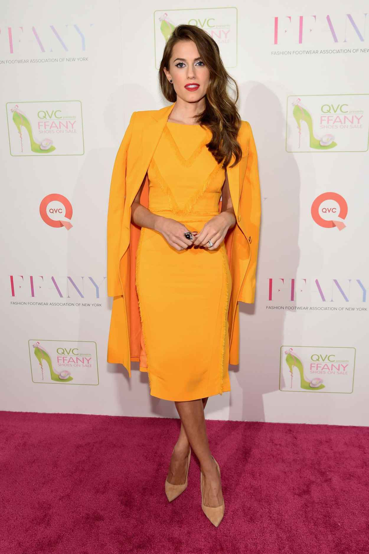 Allison Williams - QVC presents FFANY Shoes on Sale in New York City-2