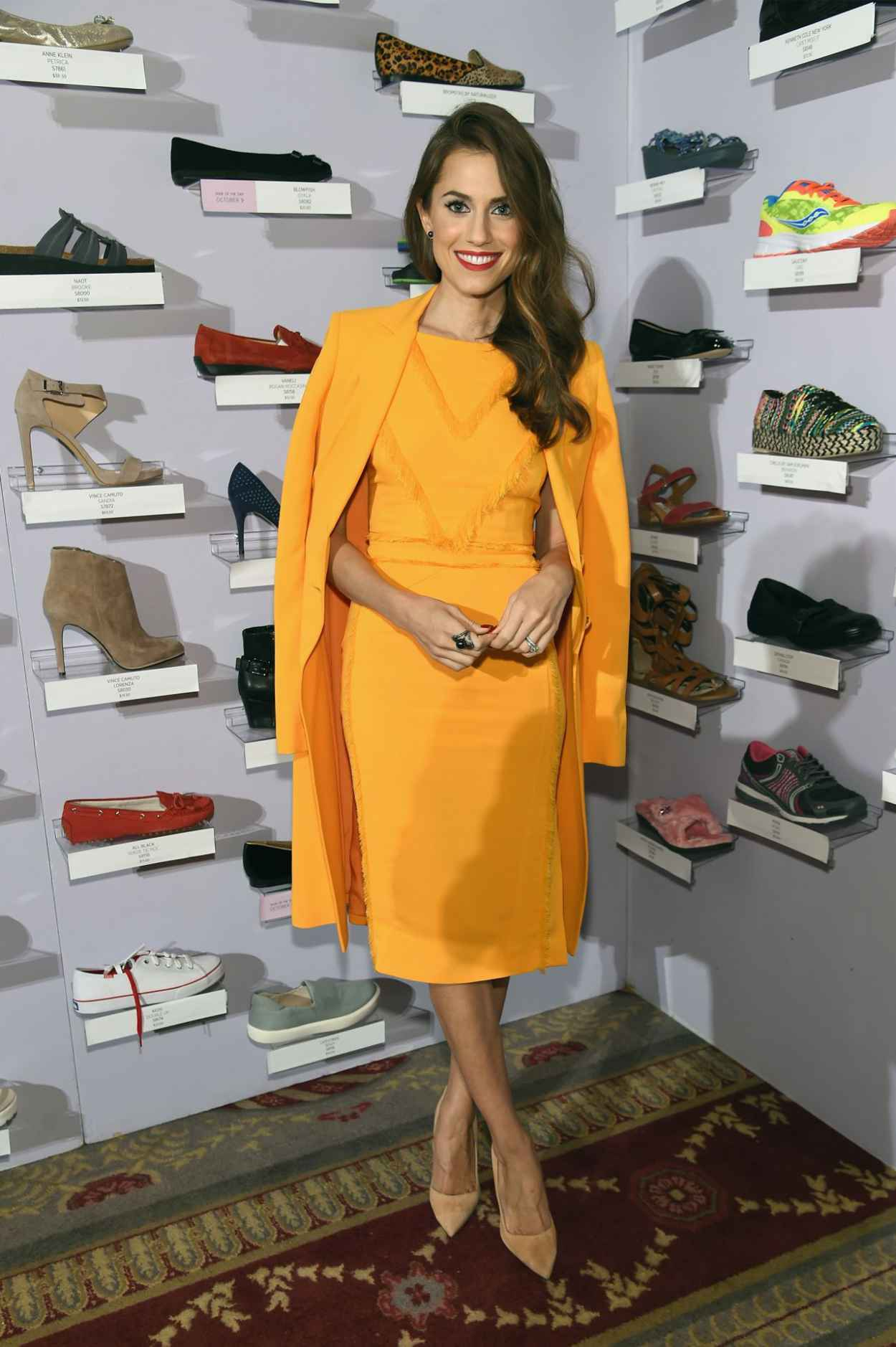 Allison Williams - QVC presents FFANY Shoes on Sale in New York City-4