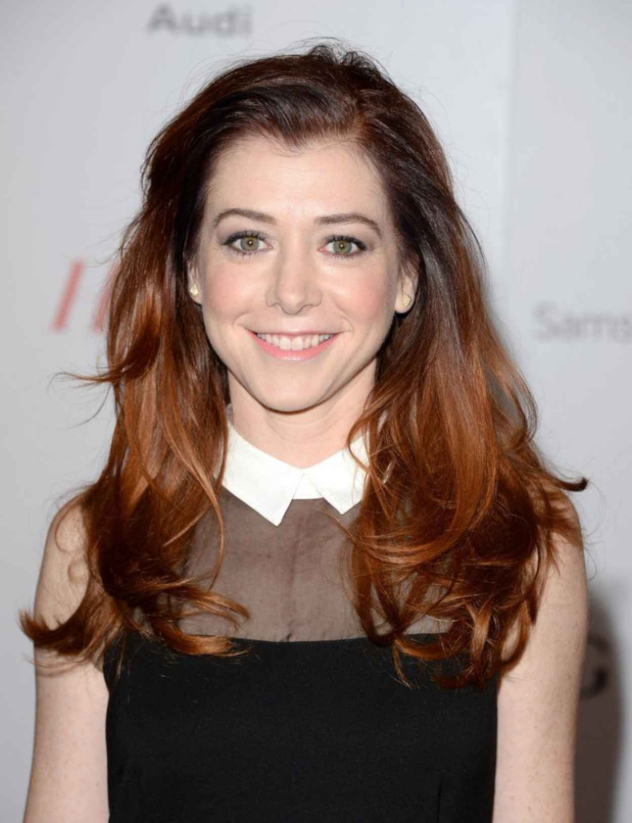 Alyson Hannigan on Red Carpet - THRs 22nd Women in Entertainment Breakfast in Beverly Hills-1