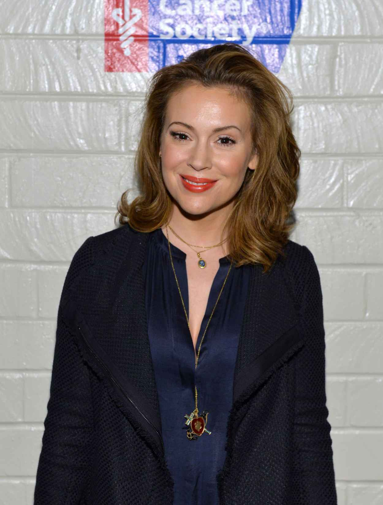 Alyssa Milano - 2015 Hollywood Stands Up to Cancer Event in Culver City-1