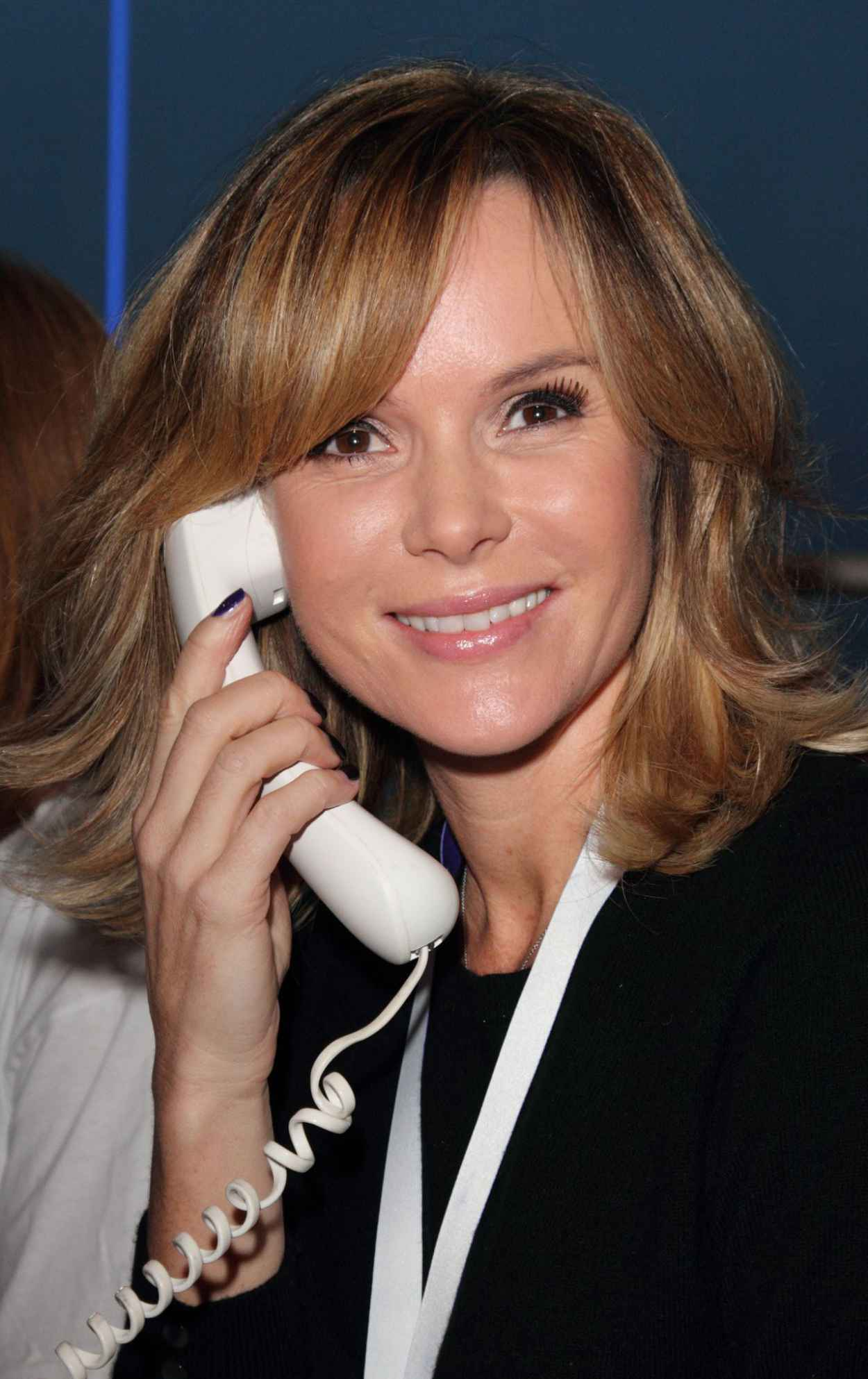 Amanda Holden - Philippines Typhoon Telethon at BT Tower in London-1