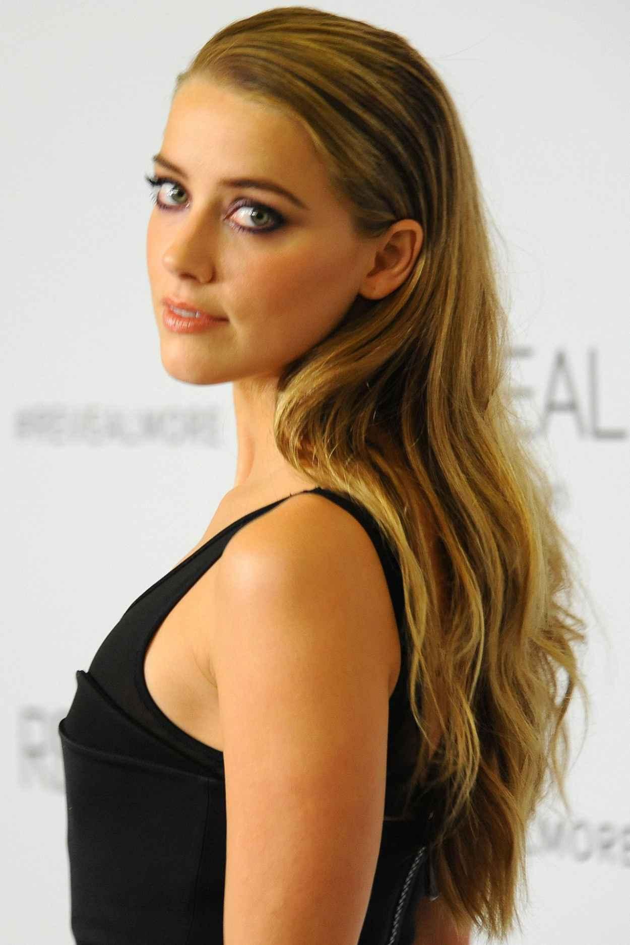 Amber Heard - Calvin Klein Fragrance Launch for REVEAL in New York City - Sep 2015-1