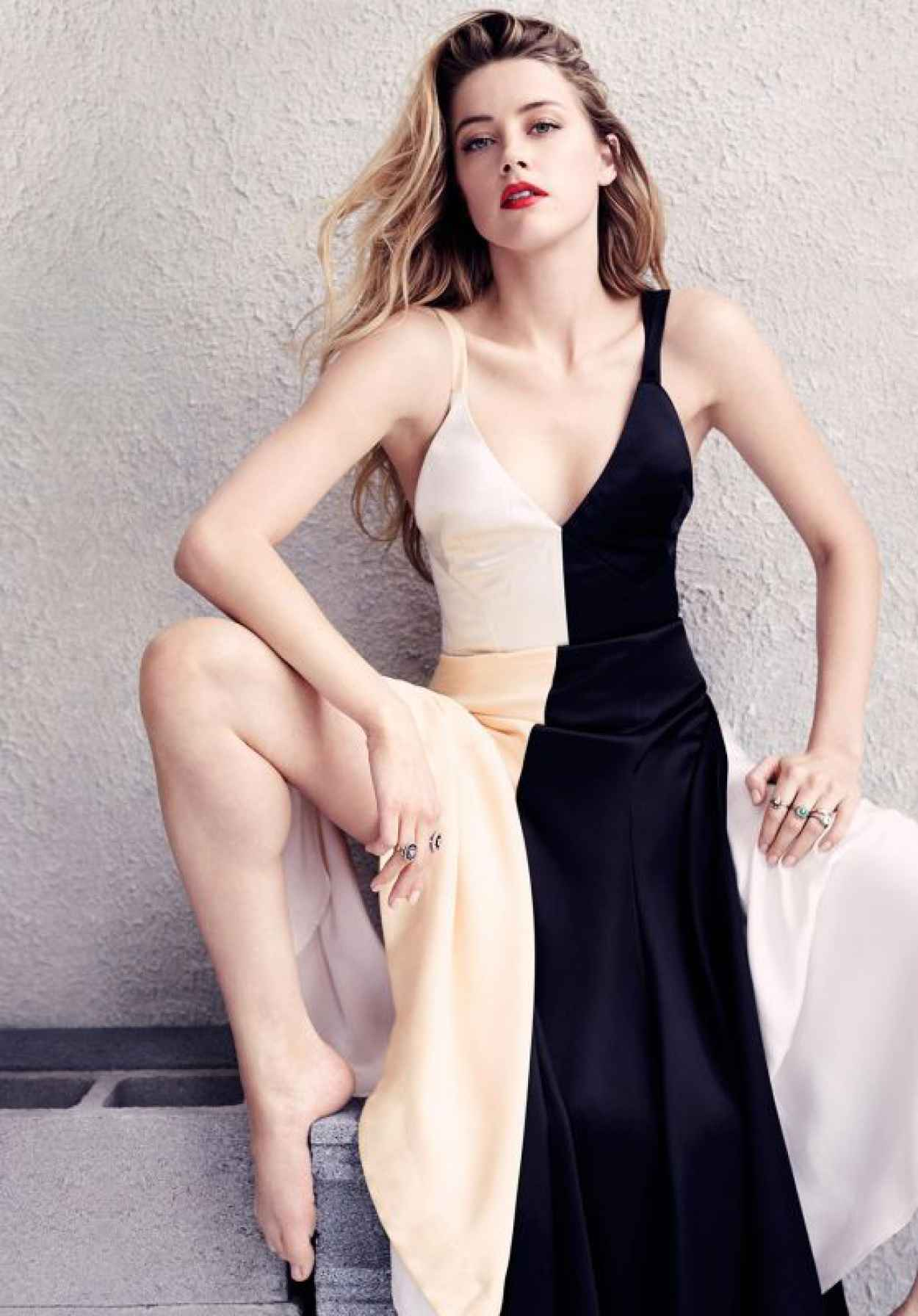 Amber Heard - Elle Magazine July 2015 Issue and Photos-1